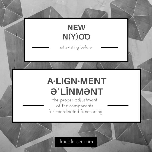 New Alignment