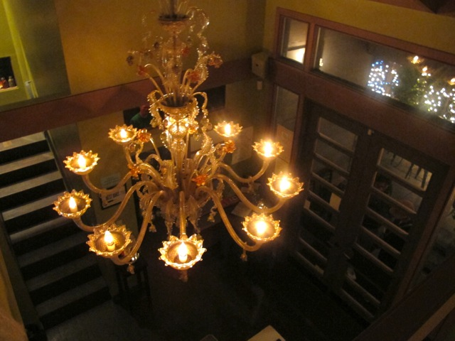 Chandelier looking down from upstairs.jpeg