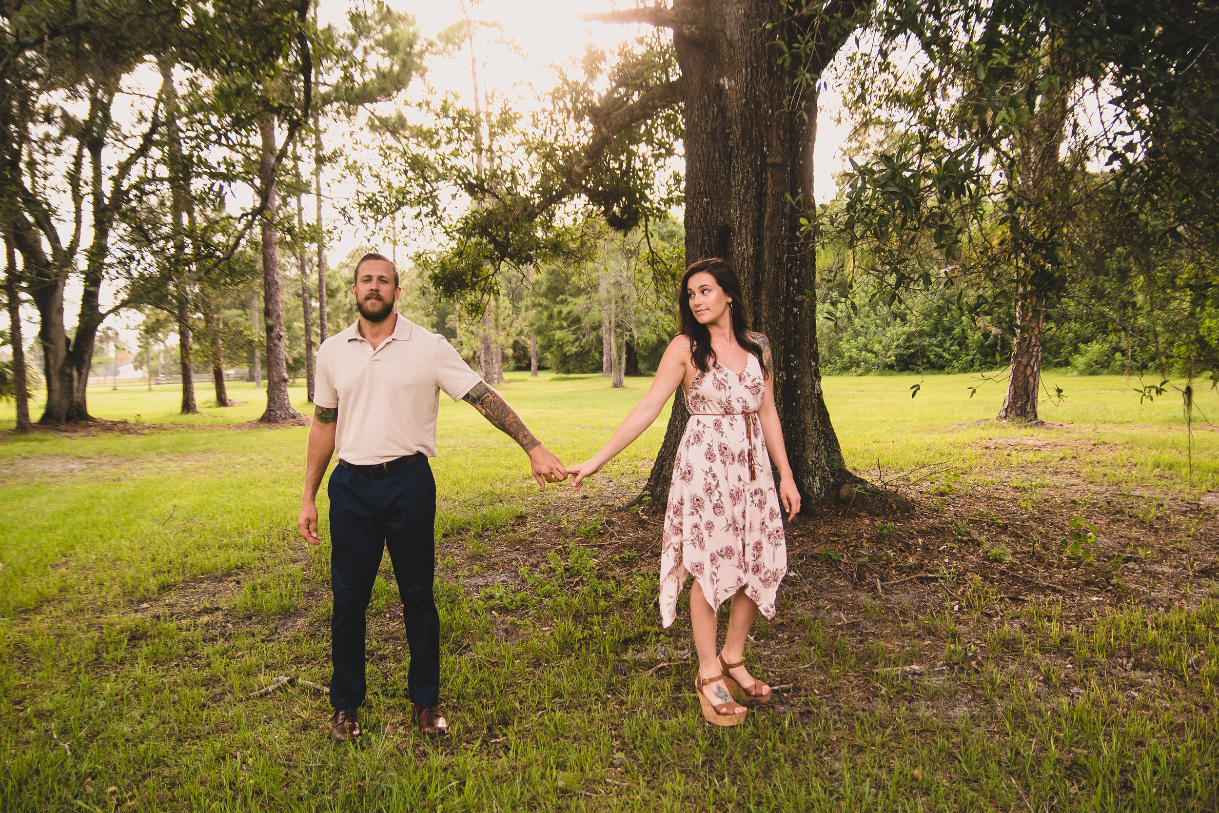 West Palm Beach Wedding Photographers at Southern Palm Bed & Breakfast in Loxahatchee, FL