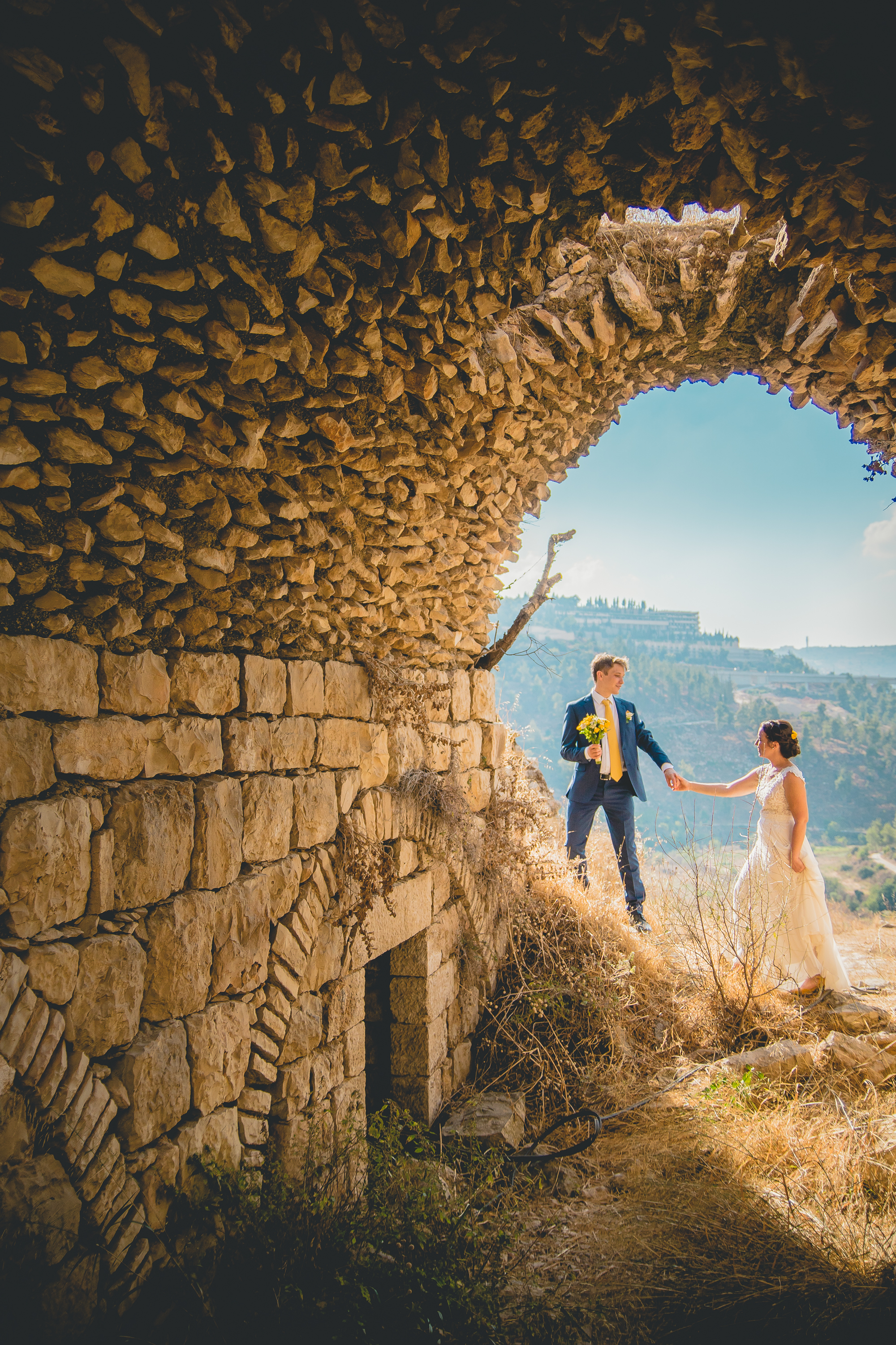 israel destination wedding fine art photography by jonathan and hannah