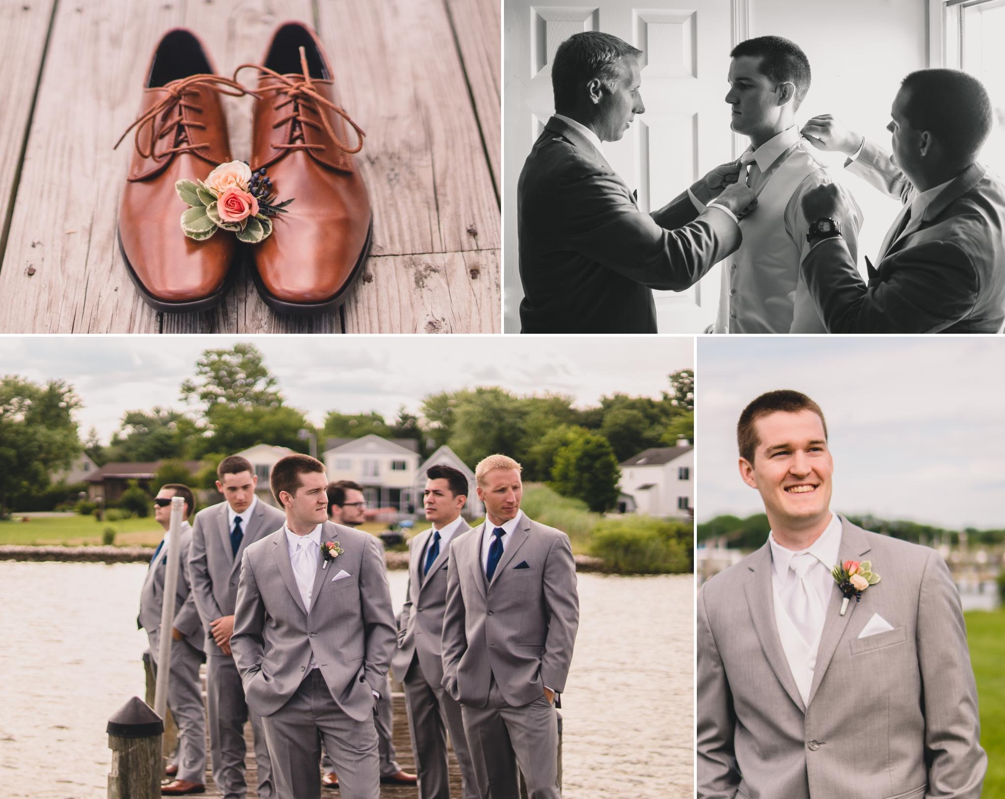 chesapeake bay wedding at silver swan bayside kent island maryland