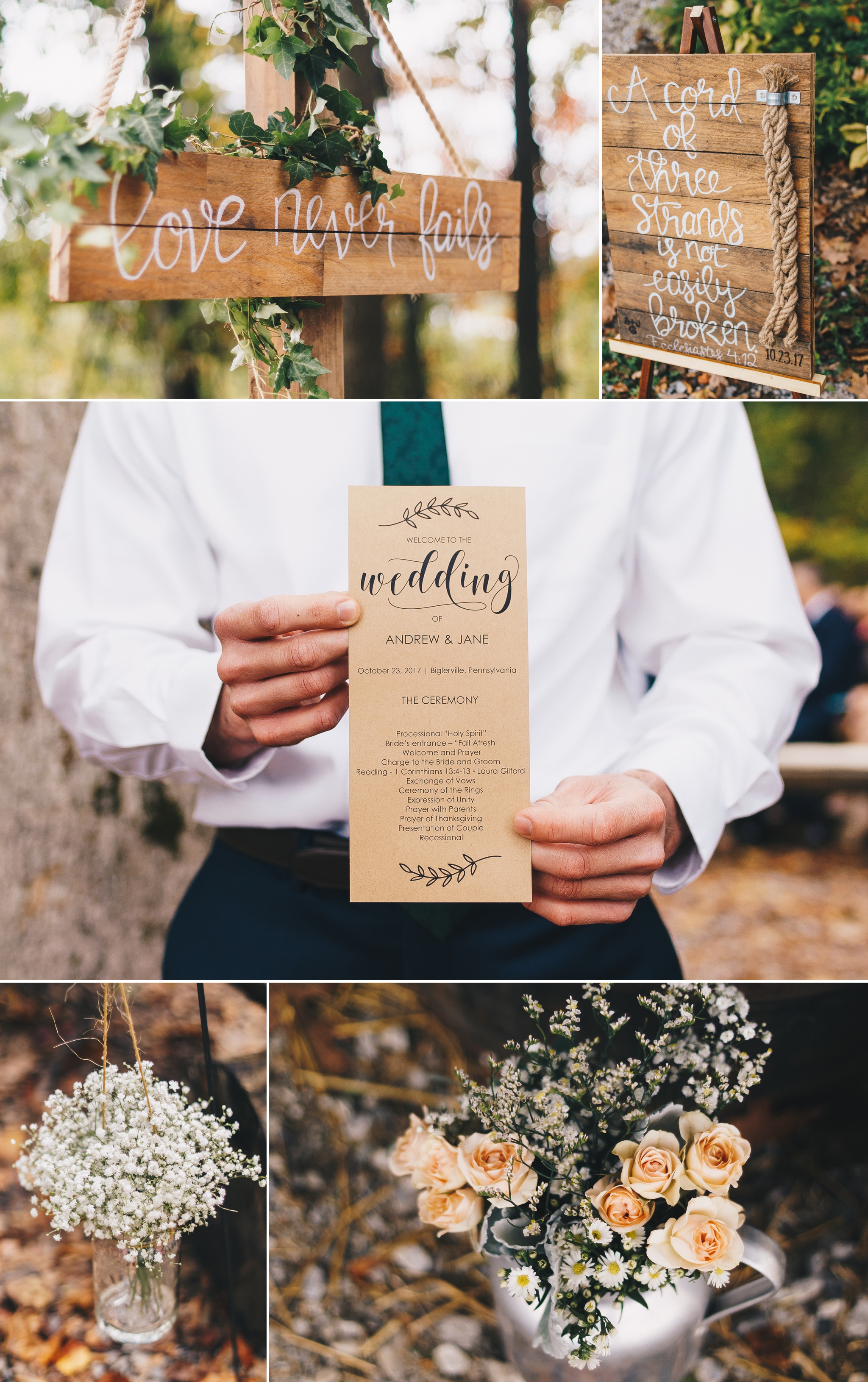 shabby chic rustic apple orchard wedding at round barn gettysburg pa by jonathan hannah photography