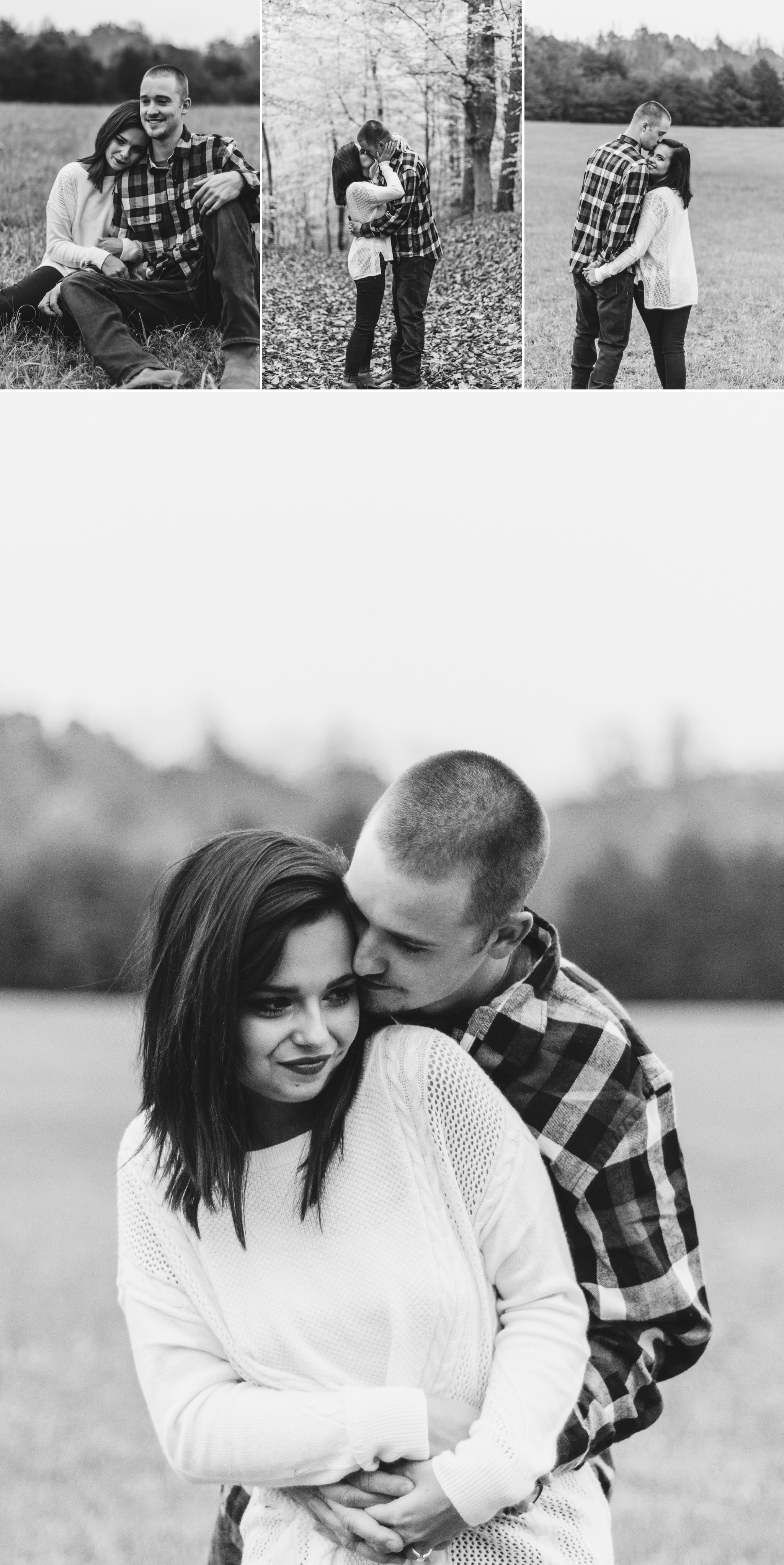 autumn fall engagement session lynchburg va by jonathan hannah photography