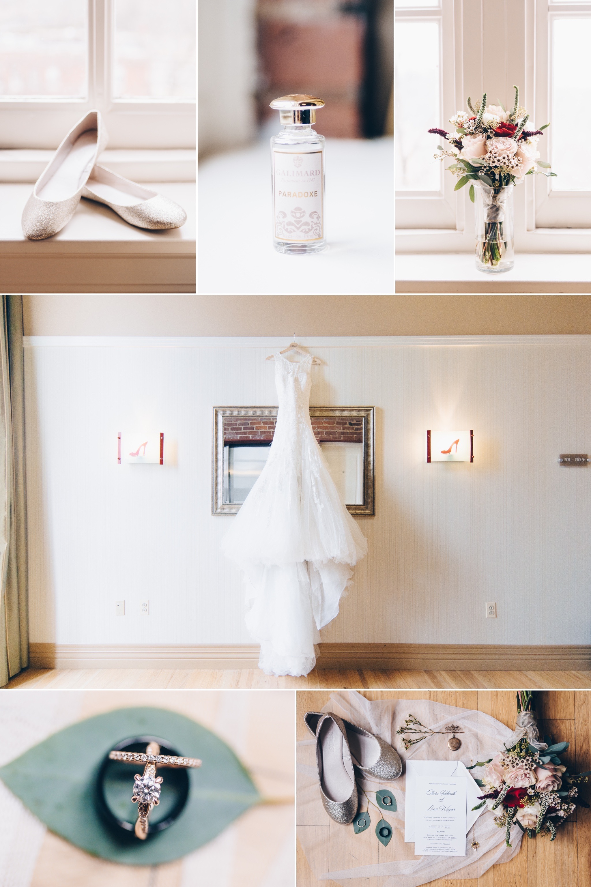 rustic chic wedding at city view terrace view by the james and craddock terry hotel downtown lynchburg va by jonathan hannah photography