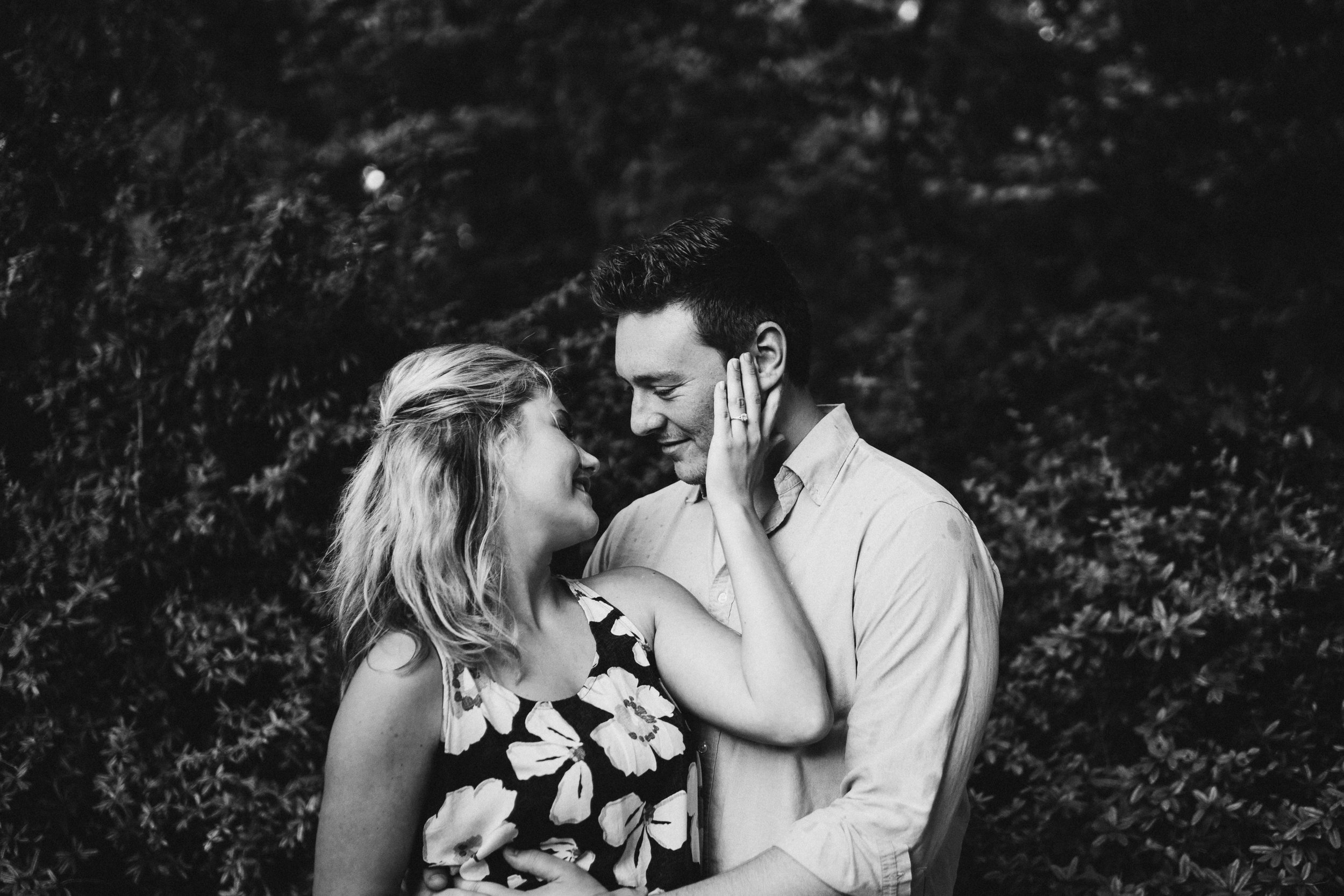 engagement session claytor nature study center bedford lynchburg virginia peaks of otter blue ridge mountains