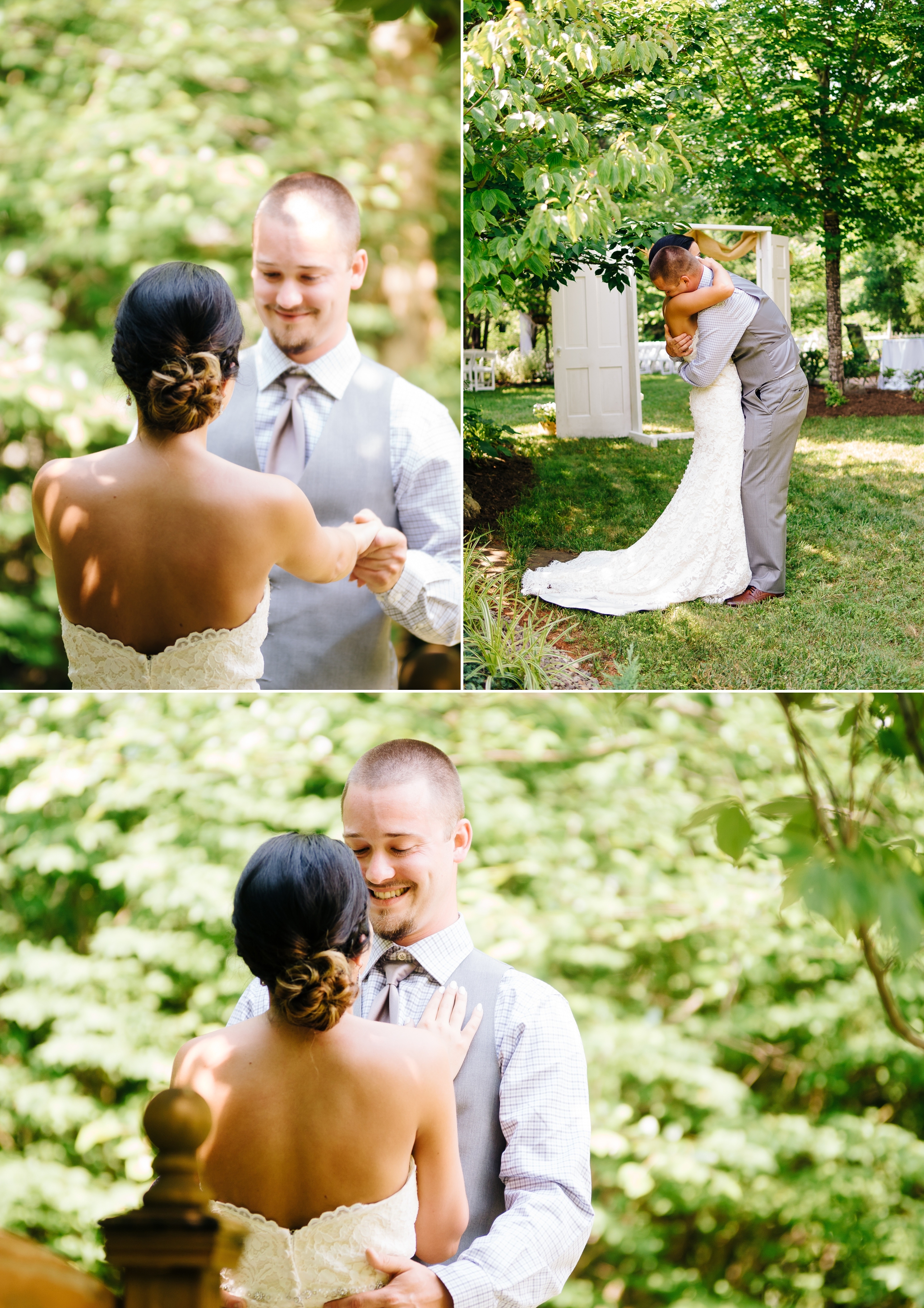 Lynchburg Virginia backyard wedding Jonathan Hannah Wedding Photography Lynchburg VA Photographer