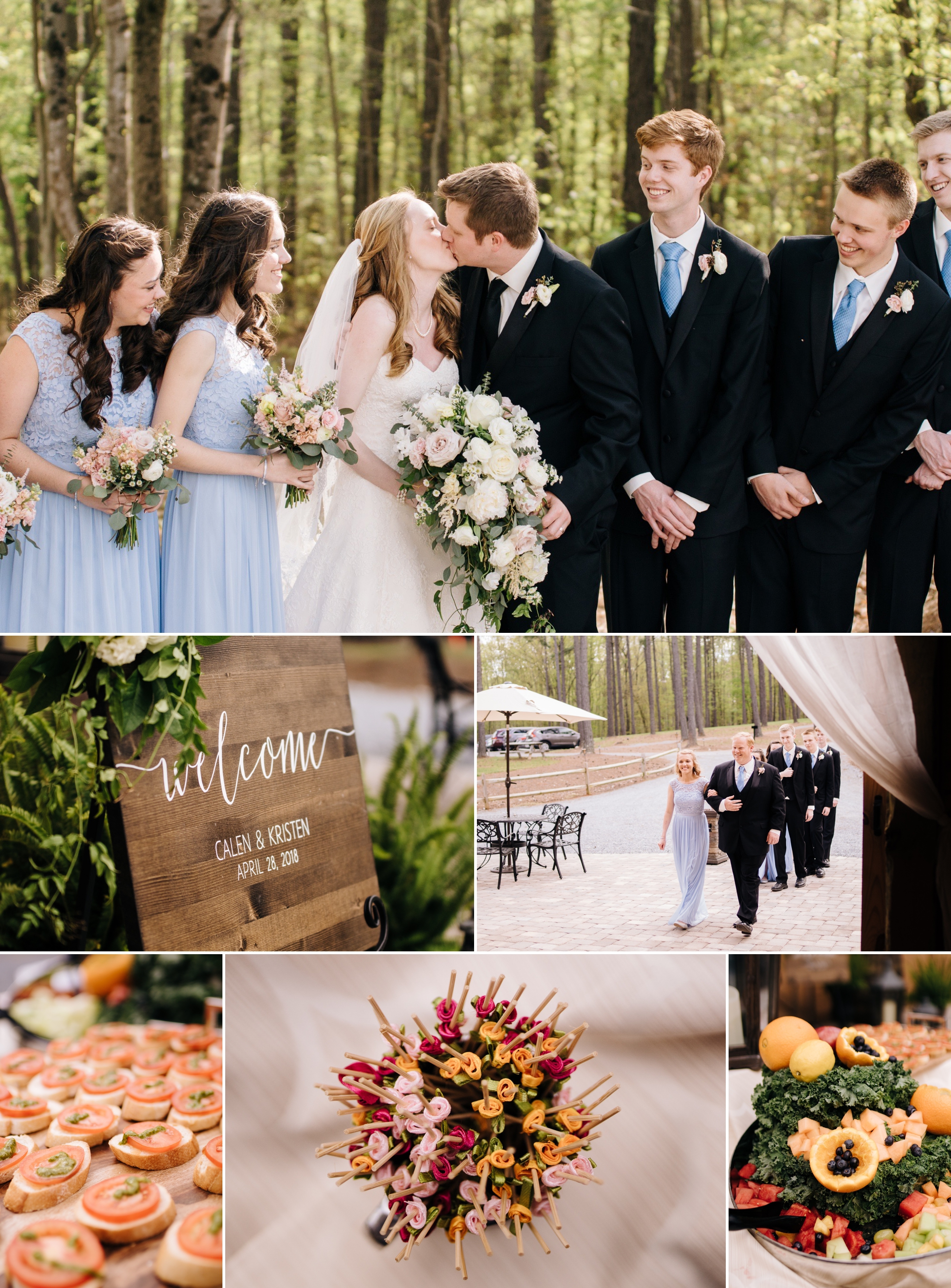 sierra vista black tie spring wedding lynchburg forest va jonathan hannah photography