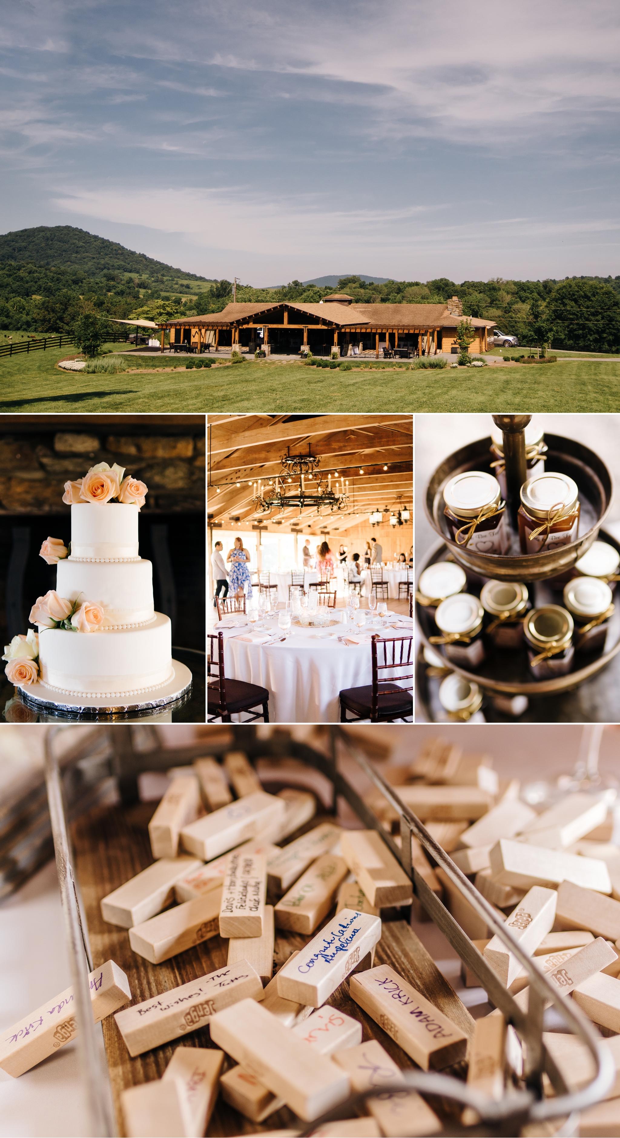 Lynchburg Virginia Wedding photographer Jonathan Hannah Photography Mountain Marriott Ranch Business Office & Inn at Fairfield Farm