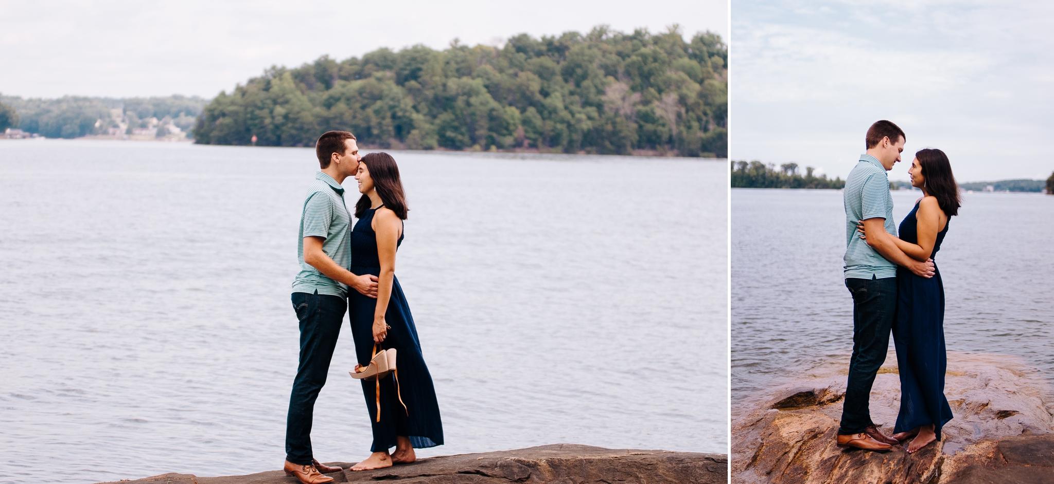 Smith Mountain Lake Engagement Session Jonathan Hannah Wedding Photography Lynchburg Va Photographer