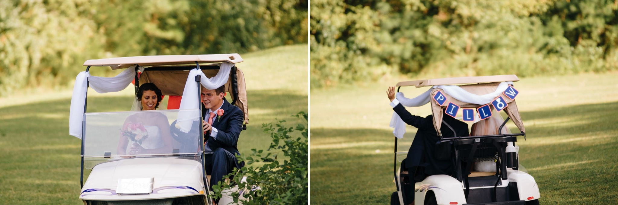 Elopement-Style Country Club Wedding Brookneal VA Hat Creek Golf Course Jonathan Hannah Photography lynchburg Virginia wedding photographers