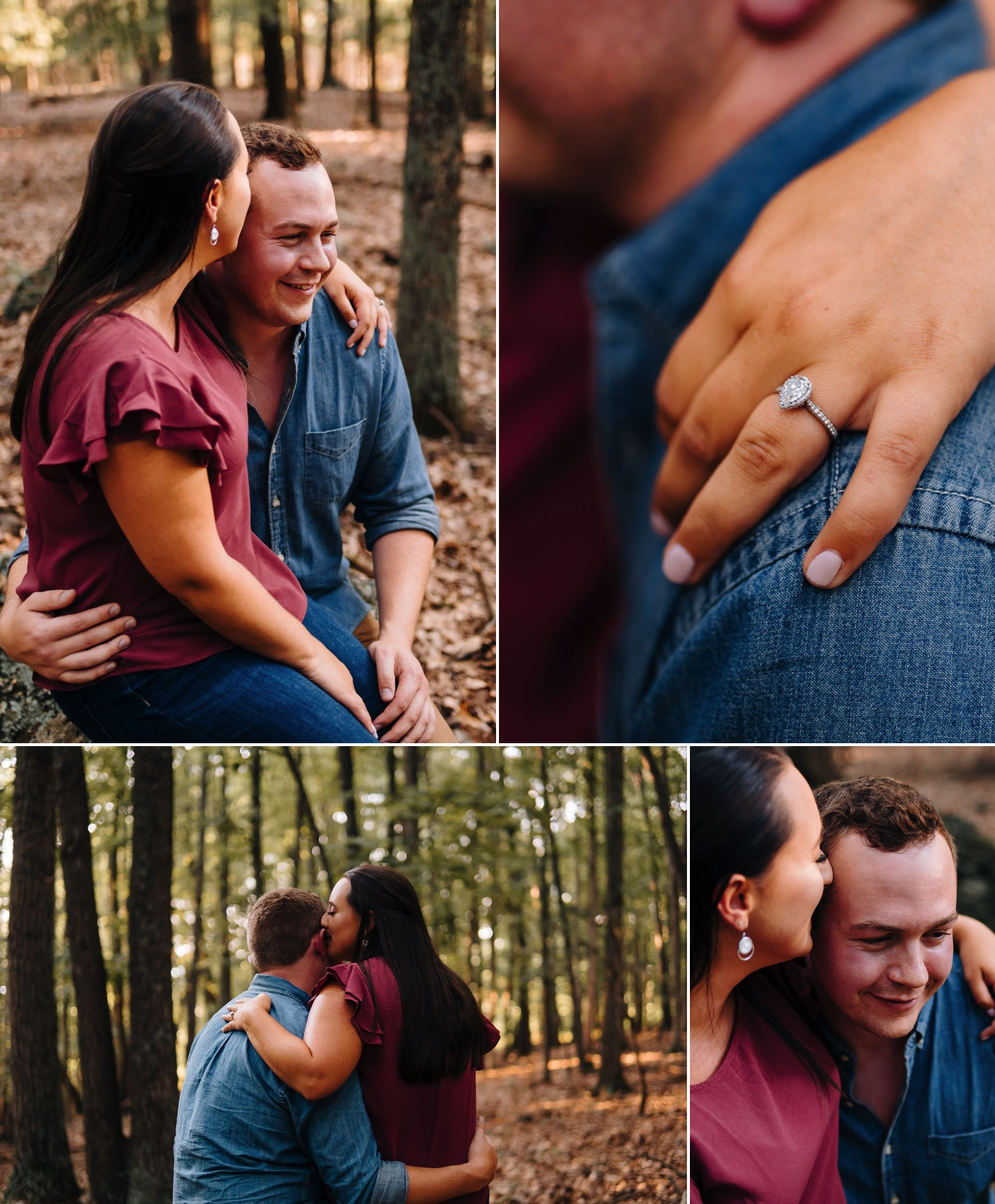 Private Mountain Estate Engagement Session Blue Ridge Mountains Raphine VA Jonathan Hannah Photography Lynchburg Virginia wedding photographer