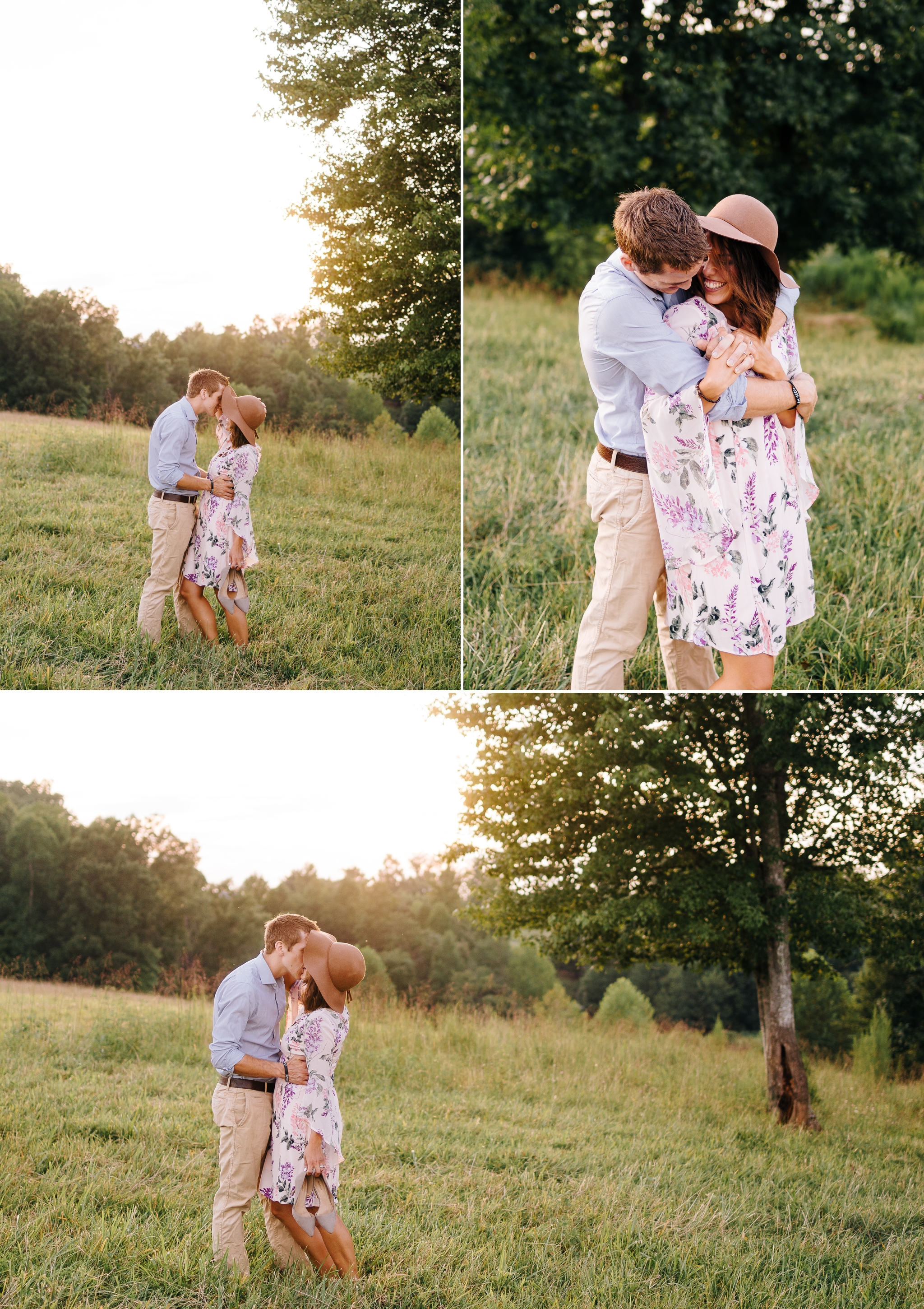 Husband_and_wife_standing_in_field_in_virginia_by_Jonathan_and_Hannah_photography