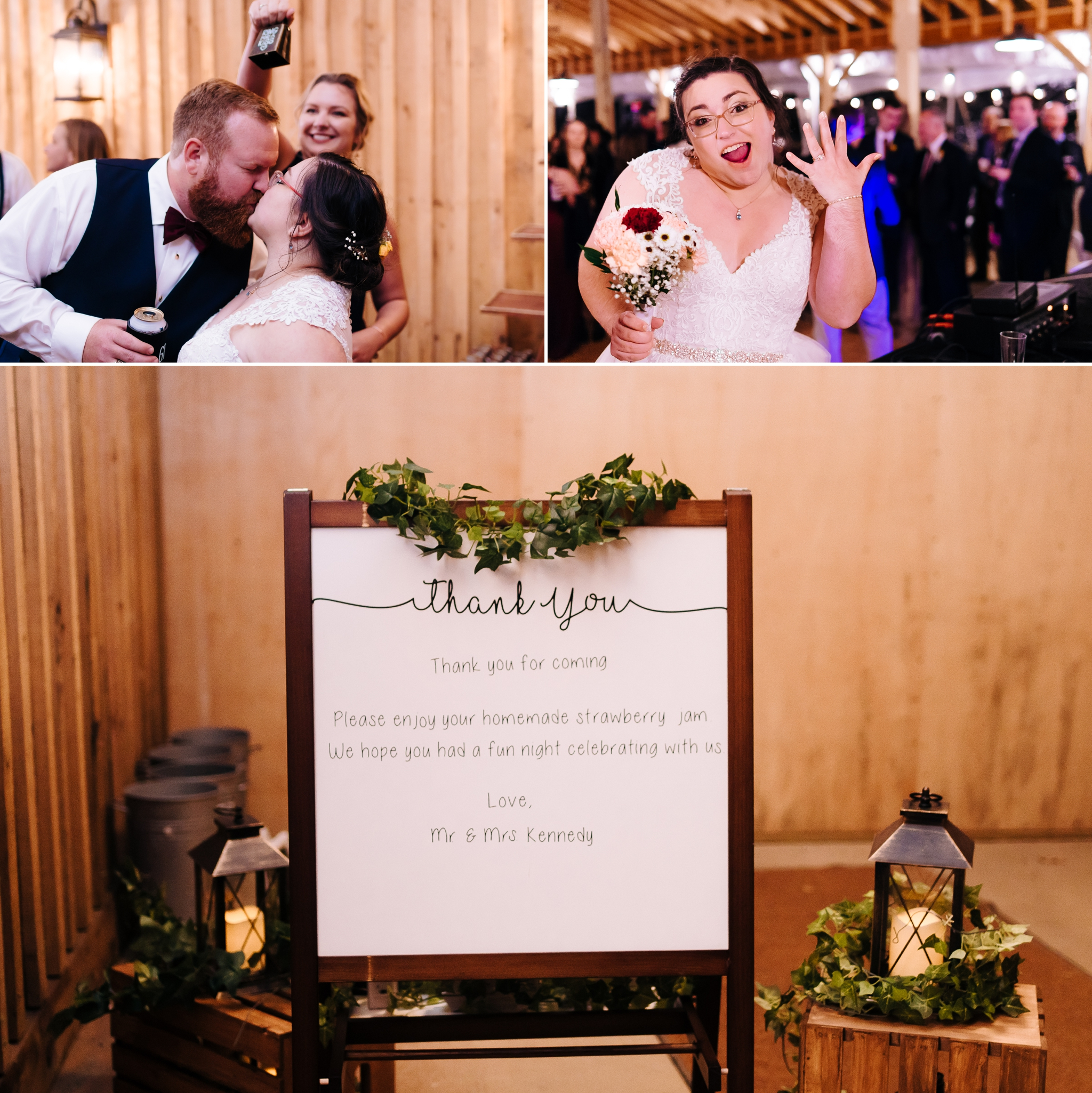 Bride_and_groom_kissing_at_recpetion_with_exit_sign_at_wolftrap_farms_by_jonathan_and_hannah_photography