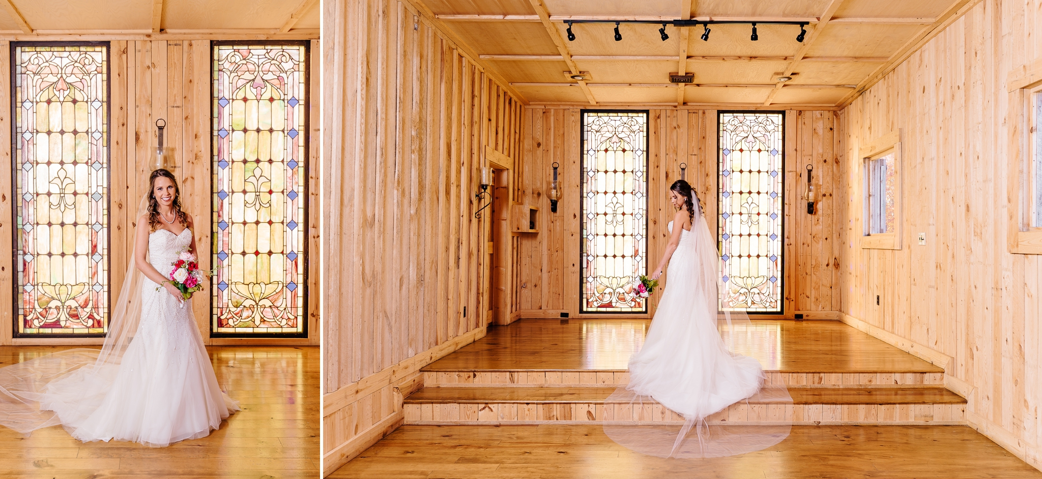 Bride_in_chapel_for_bridal_portraits_at_gentry_farms_in_virginia_by_jonathan_and_hannah_photography