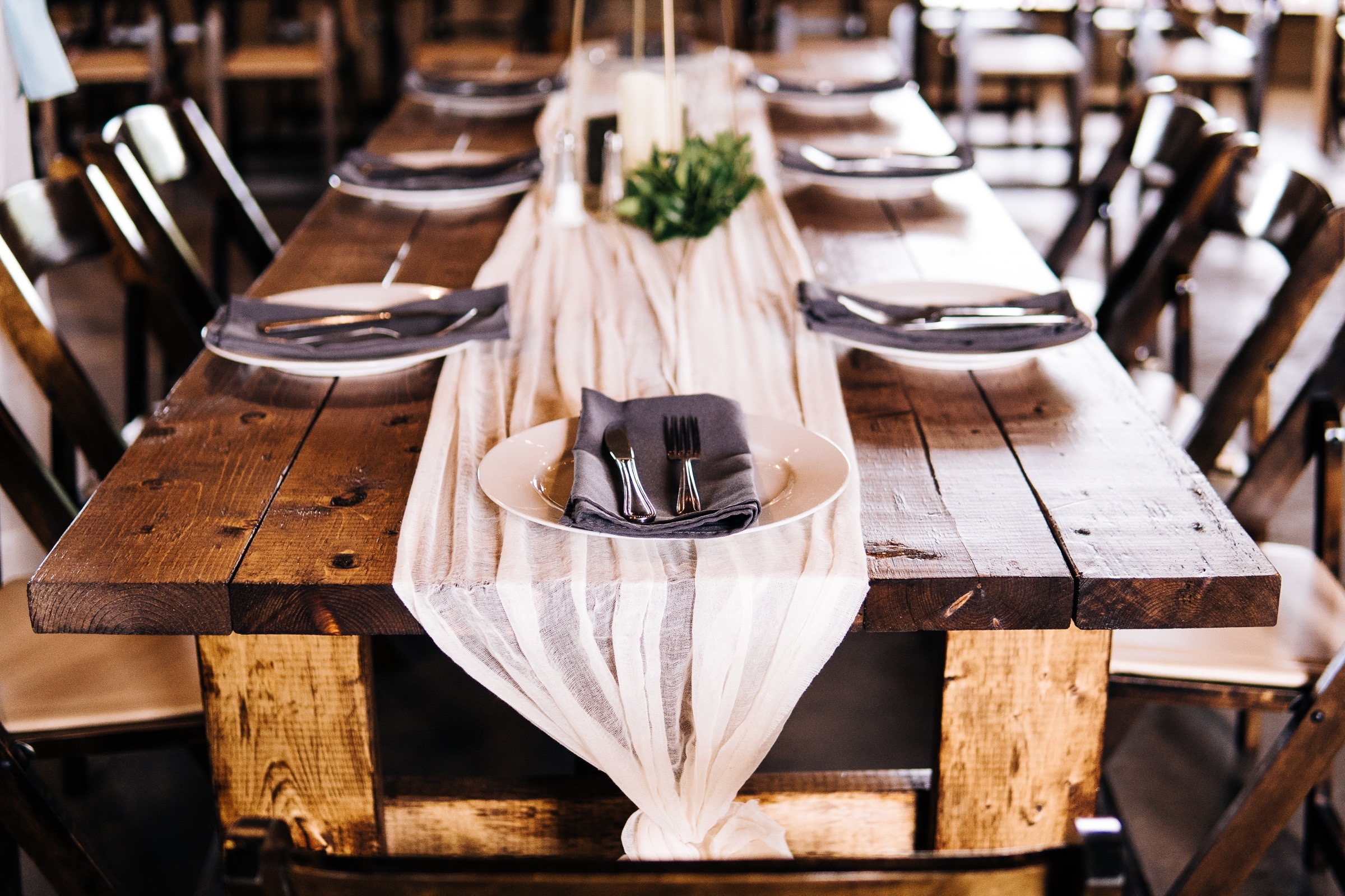 Michael and Abigael Virginia Warehouse Industrial Boho Wedding in Blue and Ivory by Jonathan Hannah Photography-2.jpg