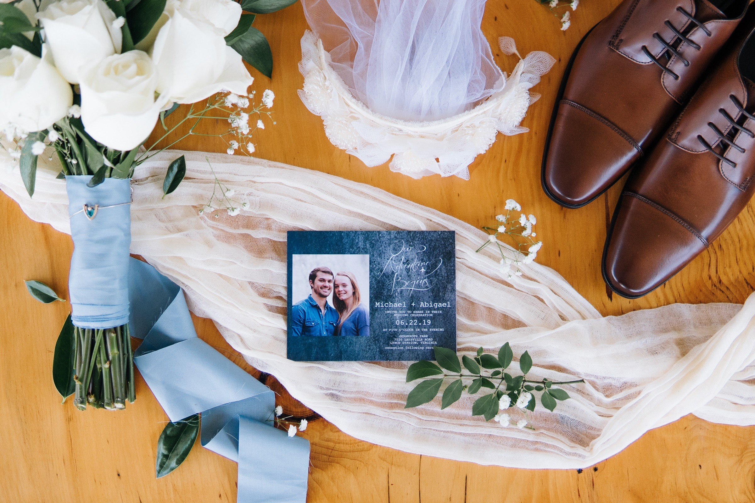 Michael and Abigael Virginia Warehouse Industrial Boho Wedding in Blue and Ivory by Jonathan Hannah Photography-4.jpg