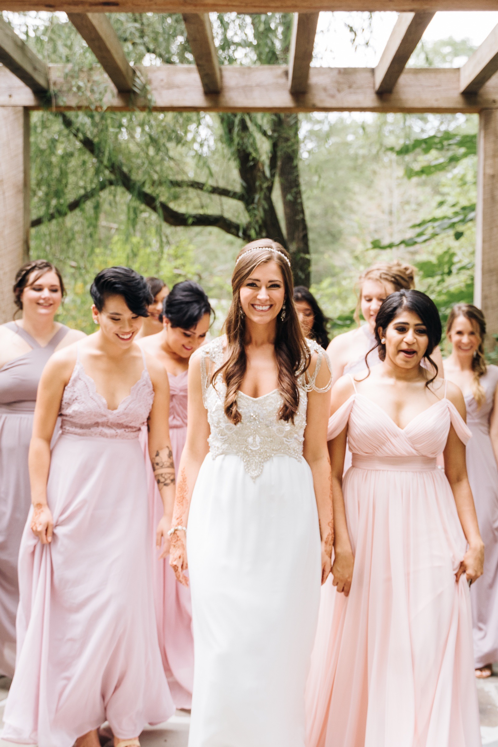 Multicultural Bengali Christian Wedding at the Mill at Fine Creek by Jonathan Hannah Photography-14.jpg