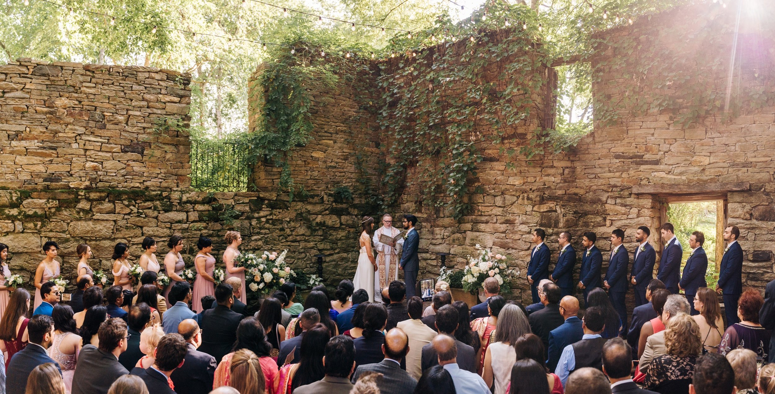 Multicultural Bengali Christian Wedding at the Mill at Fine Creek by Jonathan Hannah Photography-17.jpg