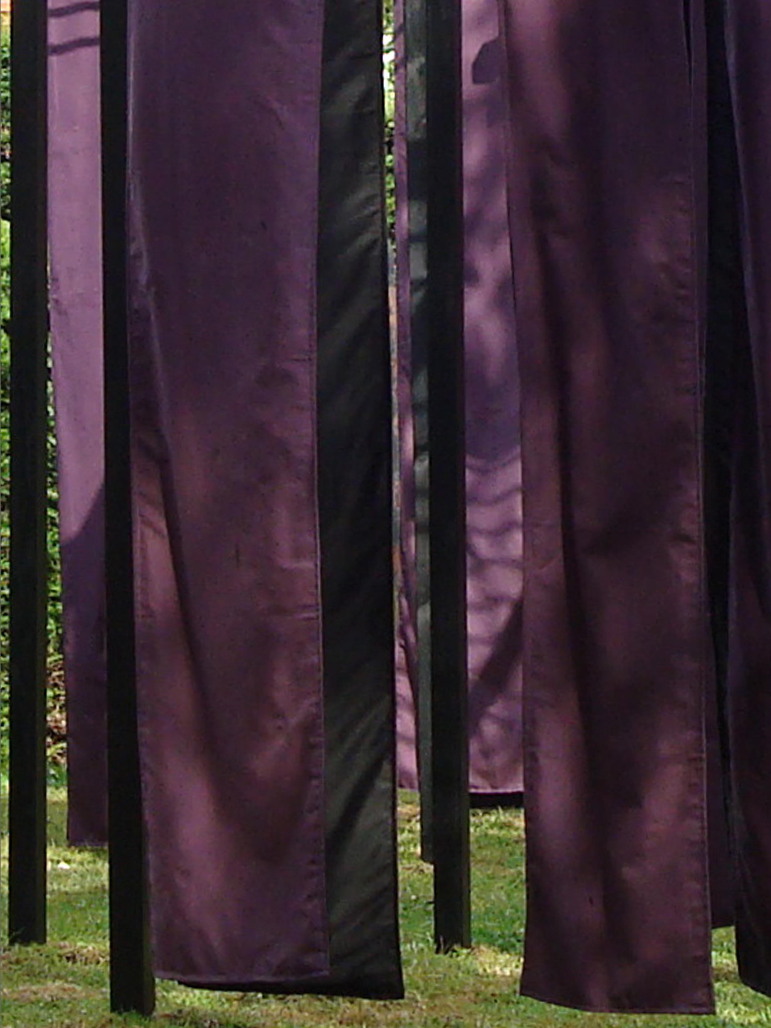 "2009 ""Obi V"" detail, Harold Martin Botanic Garden, Leicester, England."