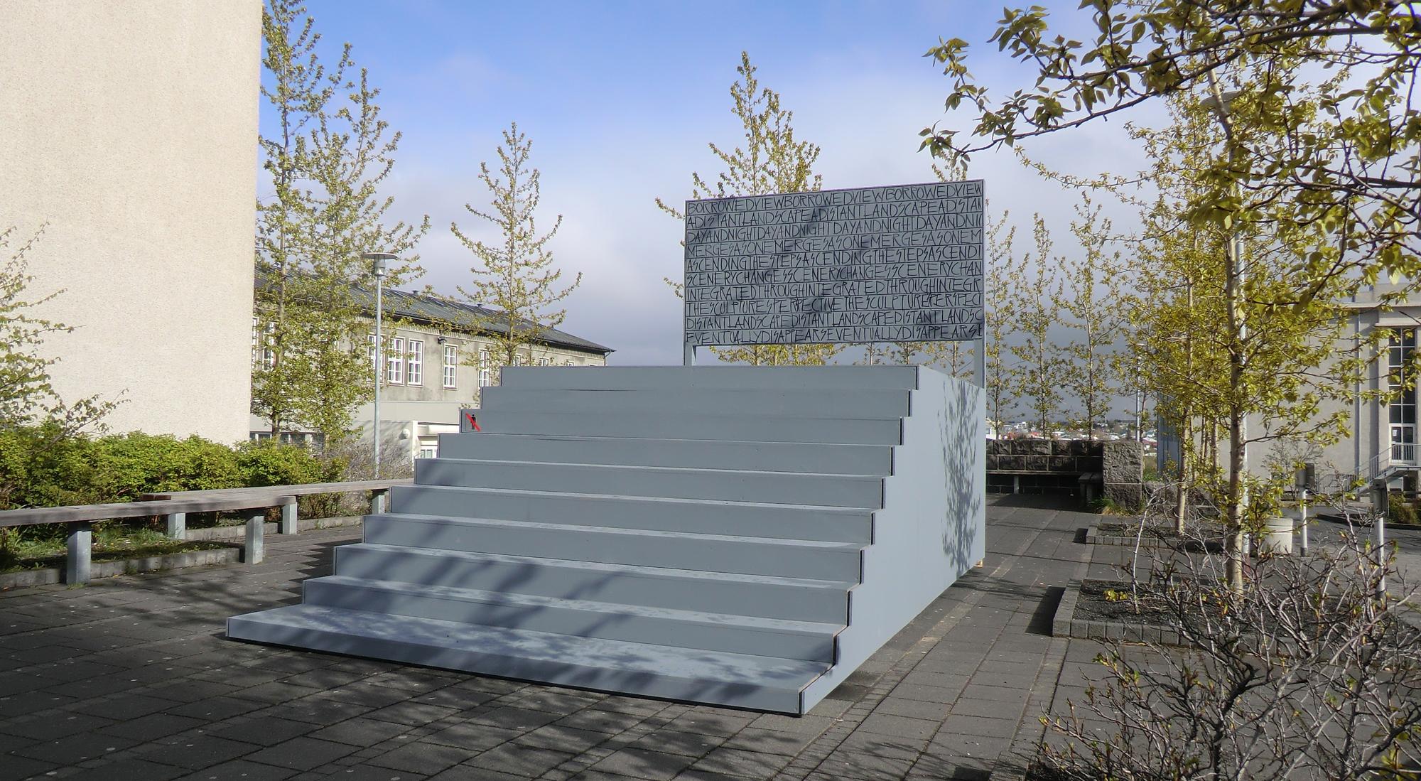 """2013 """"Borrowed View"""" Skólavörðuholt, Reykjavík."""