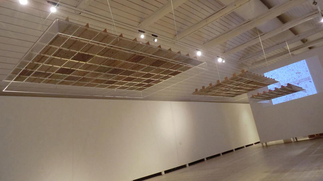 """2012 """"Borrowed View 231"""" Edsvik Art Gallery, Sollentuna, Sweden."""