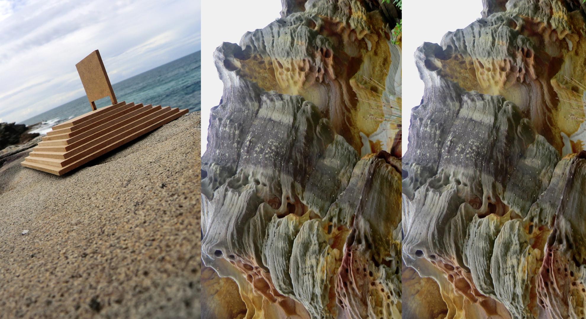 "2012 ""Borrowed View"" The Tamarama Coast, Bondi Australia."