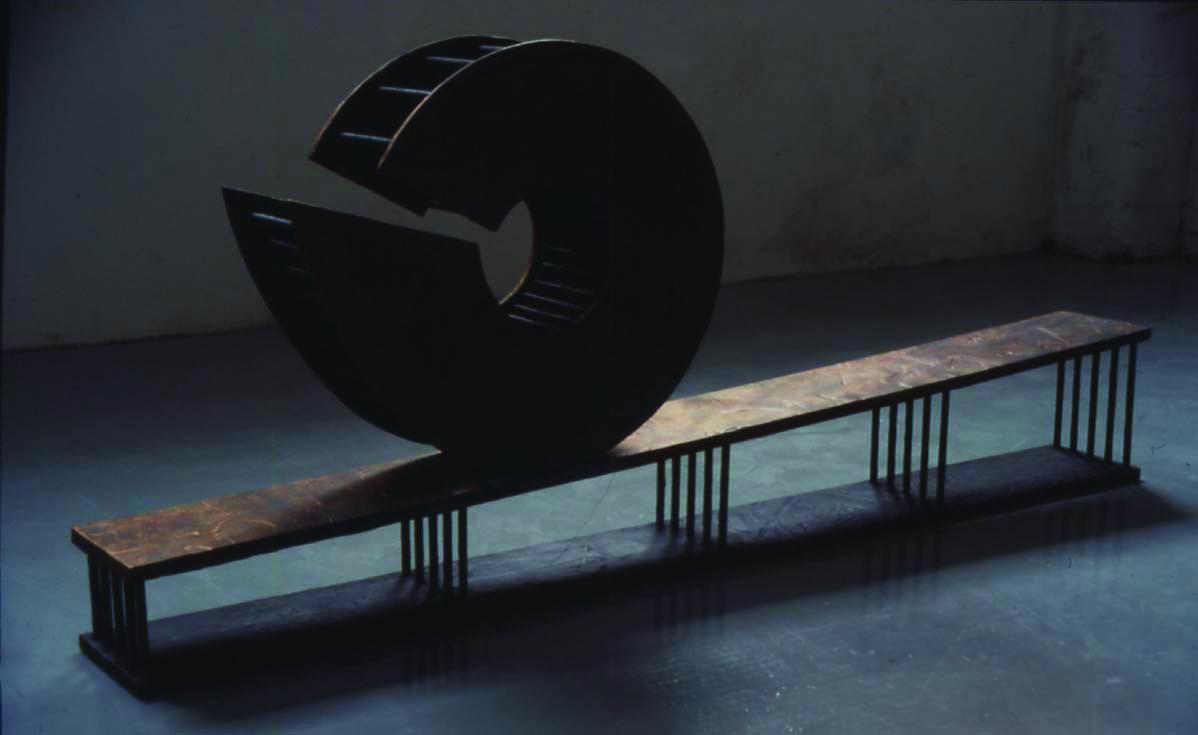 """1993 """"Untitled"""" mixed media. Image Hlynur Helgason."""