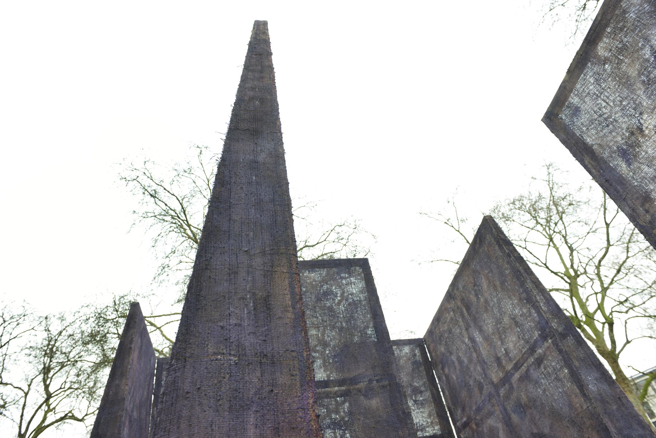 """2015 """"Labyrinth"""" South Kensington, London. Skulptur, at Royal British Society of Sculptors 2015, Image AK Purkiss."""