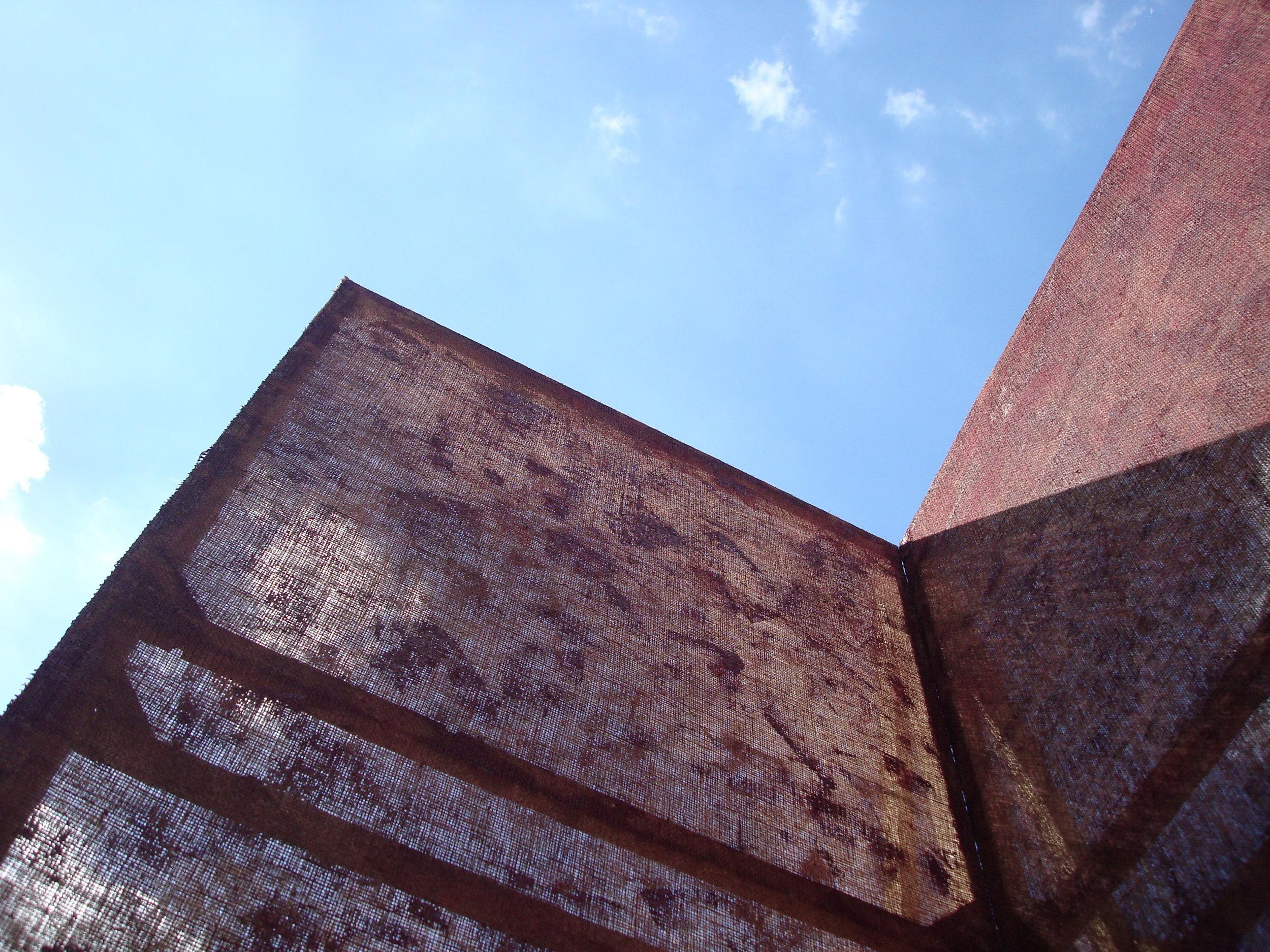 """2011 """"Absent Walls"""" International Art Parks, Sausmarez Manor, Guernsey."""
