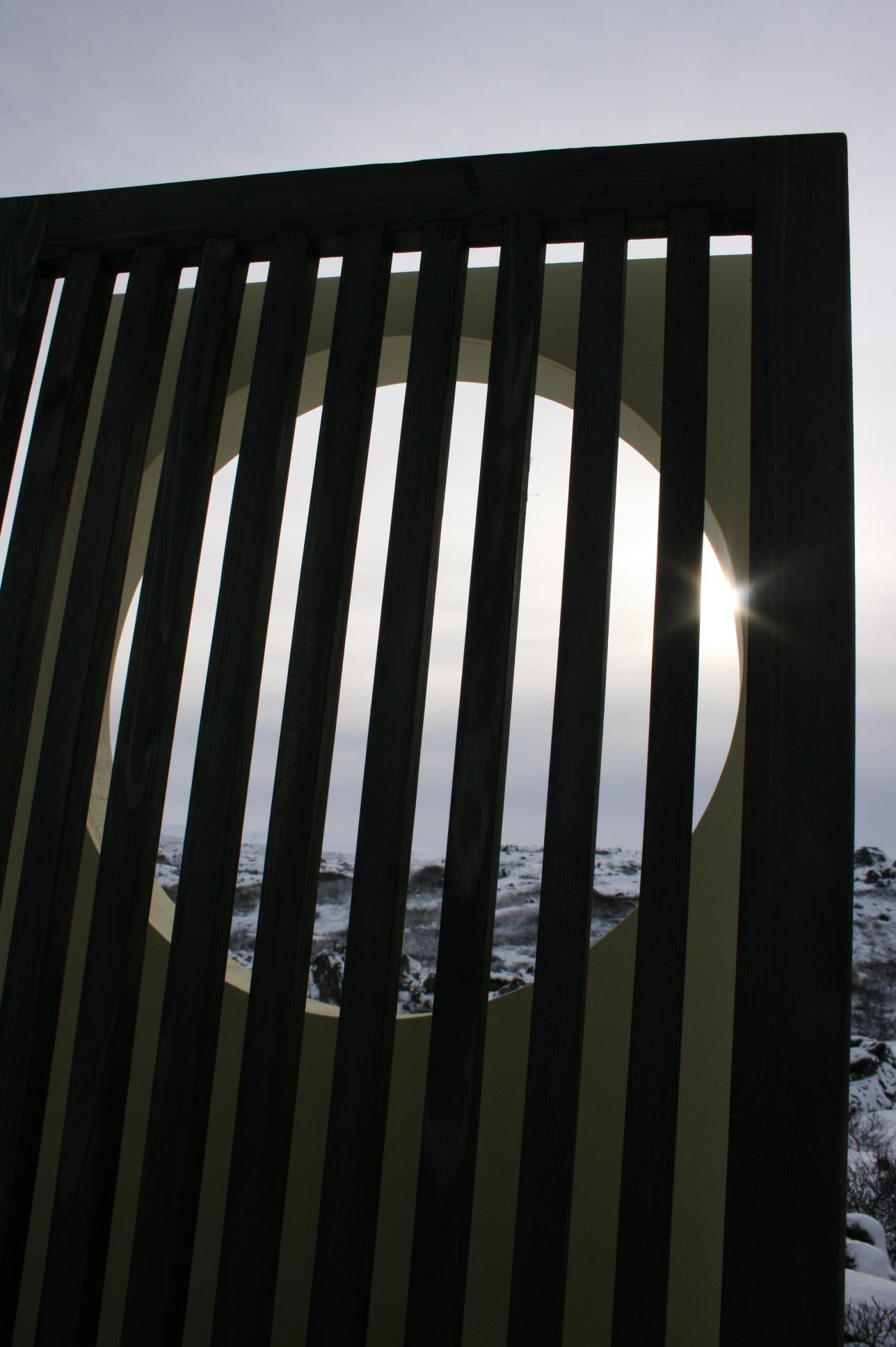 "2007 ""Memory II"" International Art Parks, Sausmarez Manor, Guernsey."