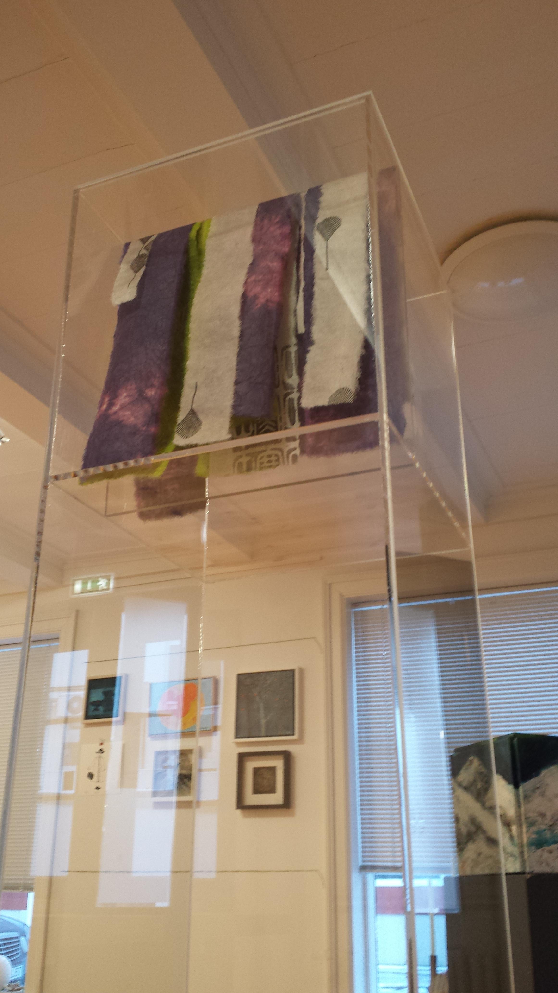 """2013 """"Layers"""" Small scale art-work exhibition The Association of Icelandic Visual Artists SÍM-húsið Hafnarstræti 16 Reykjavík."""