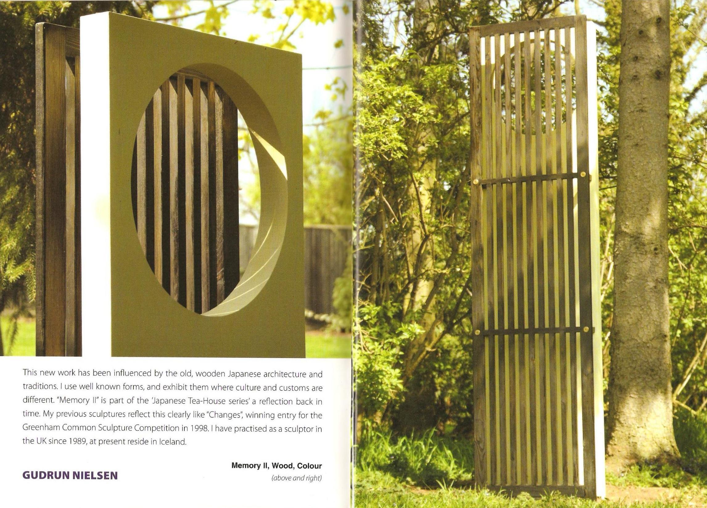 2007 Nick Horrigan curator Burghley Sculpture Garden