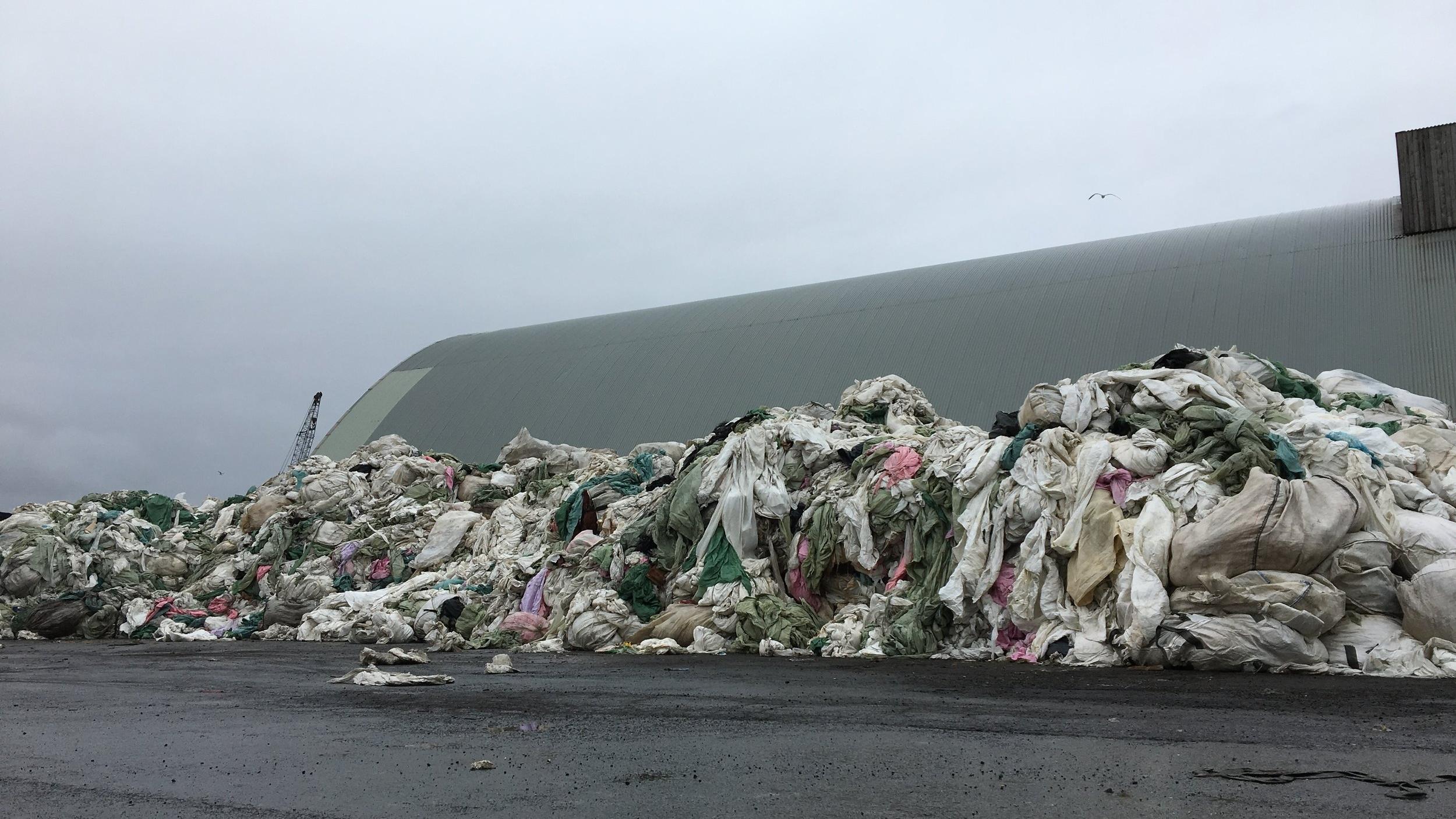 "2017 ""Plastic Mountain"" Gufunes, Iceland"