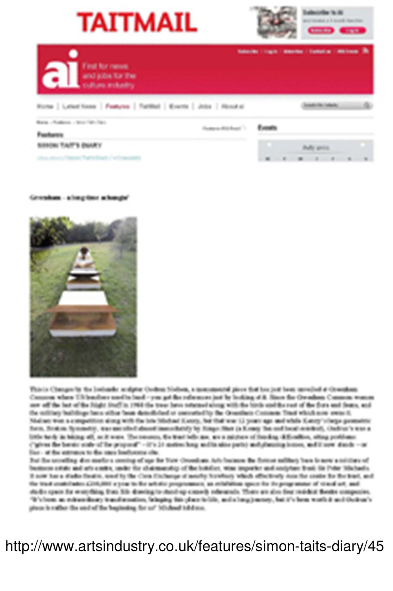 6 2011 Greenham - a long time achangin'  ai Issue 263 text SIMON TAIT'S DIARY 17.Nov.2010.jpg