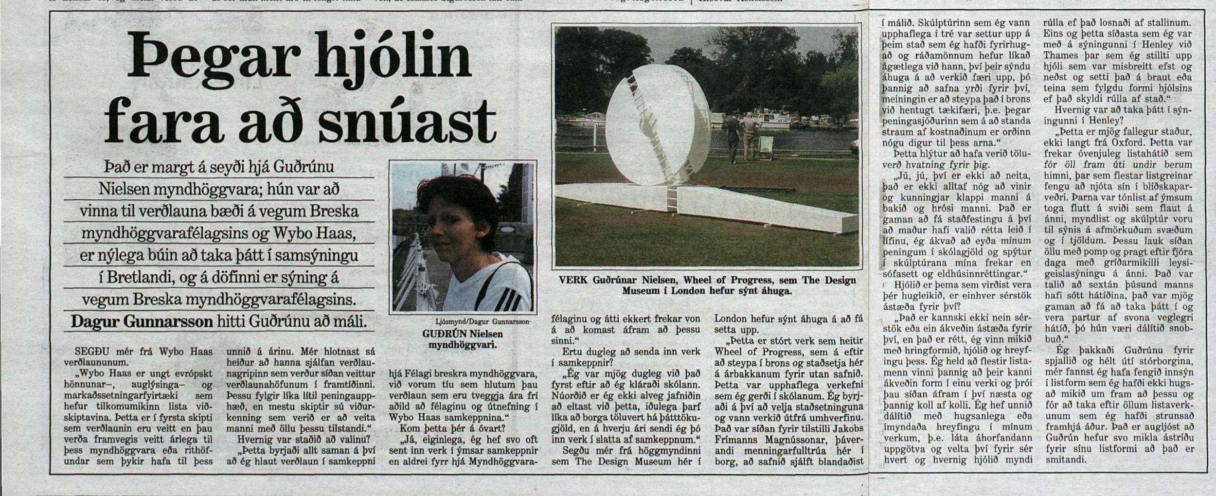 3.sept 1997 Viðtal f. mogga Dagur Gunnarsson.pdf a, b saman skorið.jpg