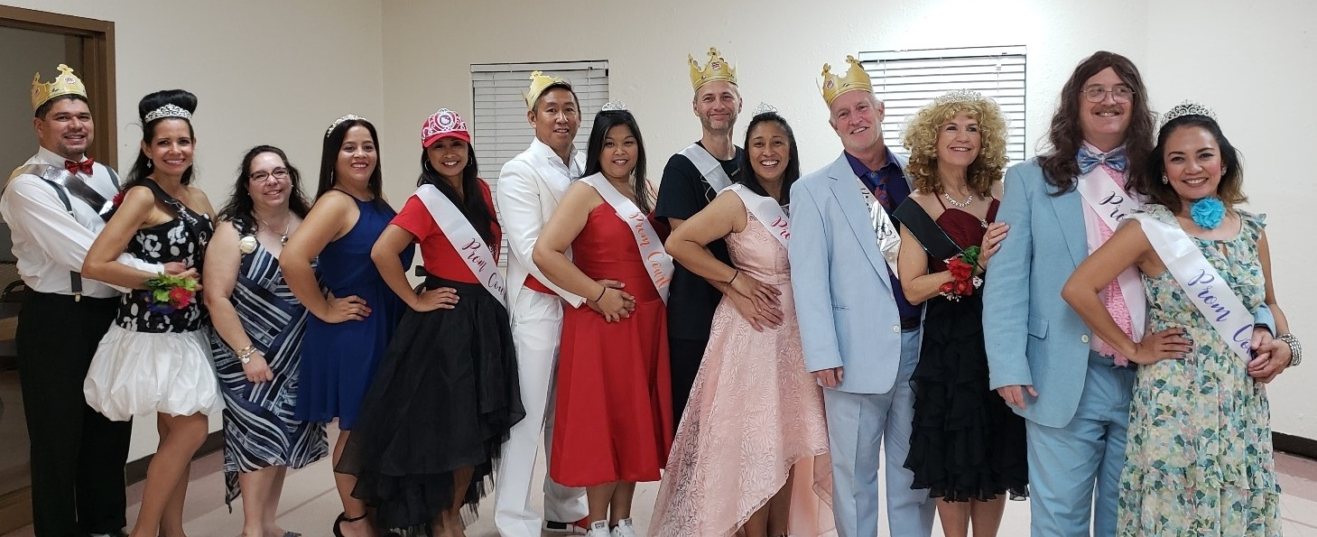 Prom Misfits & Tacky Prom Team Tables - April 2019