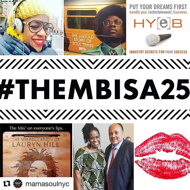 Now if today is the day you need to hear empowerment words!! Then stop right there and make your way to us @lamaisondartny. Because @mamasoulnyc is keeping on purpose, a snapshot of TODAY'S event PEOPLE ON PURPOSE.  Come on over!! Starts @4pm. See ya there! (Link in bio) Guest @officiallipgame  Thembisa's on Purpose  Top 10 Accomplishments of 2018 (Unranked) 1. Traveled to new places, domestic and international, for work  2. Beat out 1100 actors to became the female voice of the Muhammad Ali Center's Legacy video  3. First time presenter at The Voice Arts Awards  3. Featured in Uncommon Bonds: Women Reflect on Race & Friendship anthology  4. Okayplayer article commemorating The Miseducation of Lauryn Hill album campaign turning 20  5. First time performer in audio drama  6. Saw Michelle Obama in person TWICE, once with her daughter  7. Teenage son shot his first fashion cover (Ubikwist Magazine) and live TV show (GMA Day on ABC), young daughter crushing Math, Reading and gymnastics  8. Successfully took #lipgame from social to experiential with the launch of #lipgameLIVE  9. Established Mshaka Media, LLC and began consulting for aspiring voice over artists  10. Met and hugged Stokely Williams (of Mint Condition) and Daniel Craig (current James Bond 007)  #peopleonpurpose #solopreneur #creativeentrepreneurs #creativescreate #Createeveryday #LaurynHill #MiseducationofLaurynHill #thembisa25 #lipgamelive #americansoulbet #supportsmallbusiness