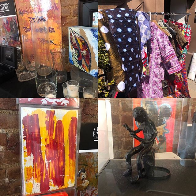 Rummage sale @lamaisondartny today Sat March 30th/Sunday March 31 #harlemgem #yardsale #stoopsale #harlem #lamaisondartny
