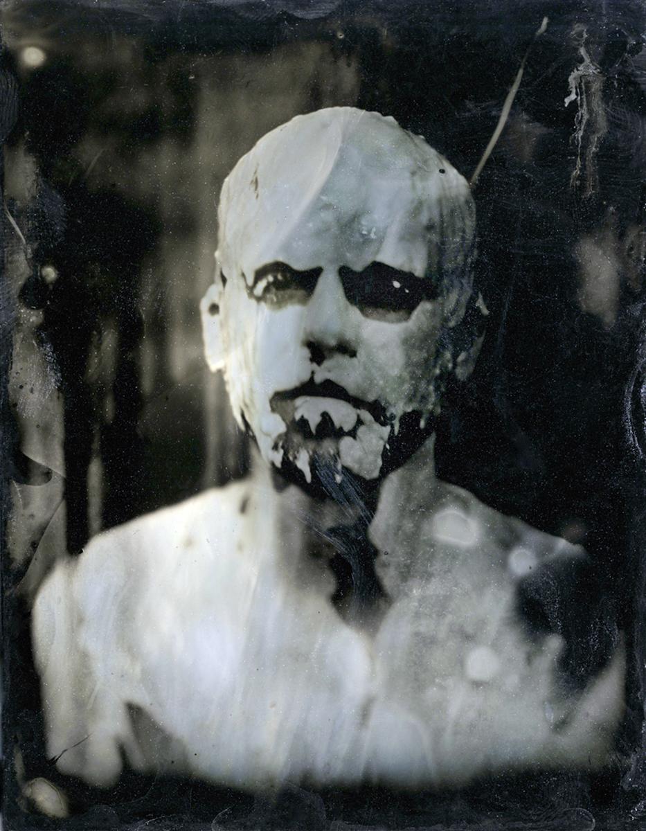 Mud man  Tintype