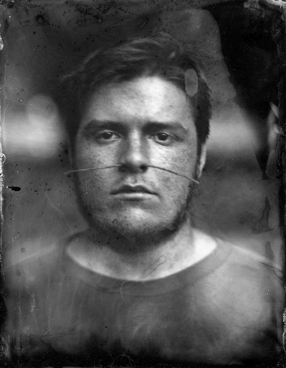 Jungle Boy  Tintype