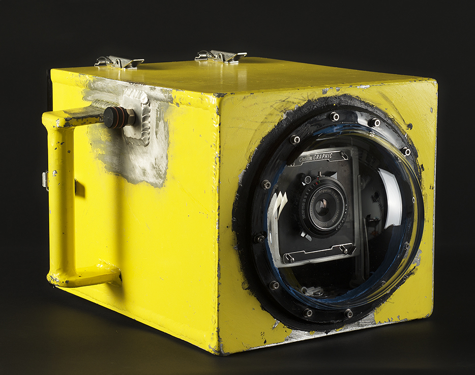 Custom Housed 4x5 Film Camera