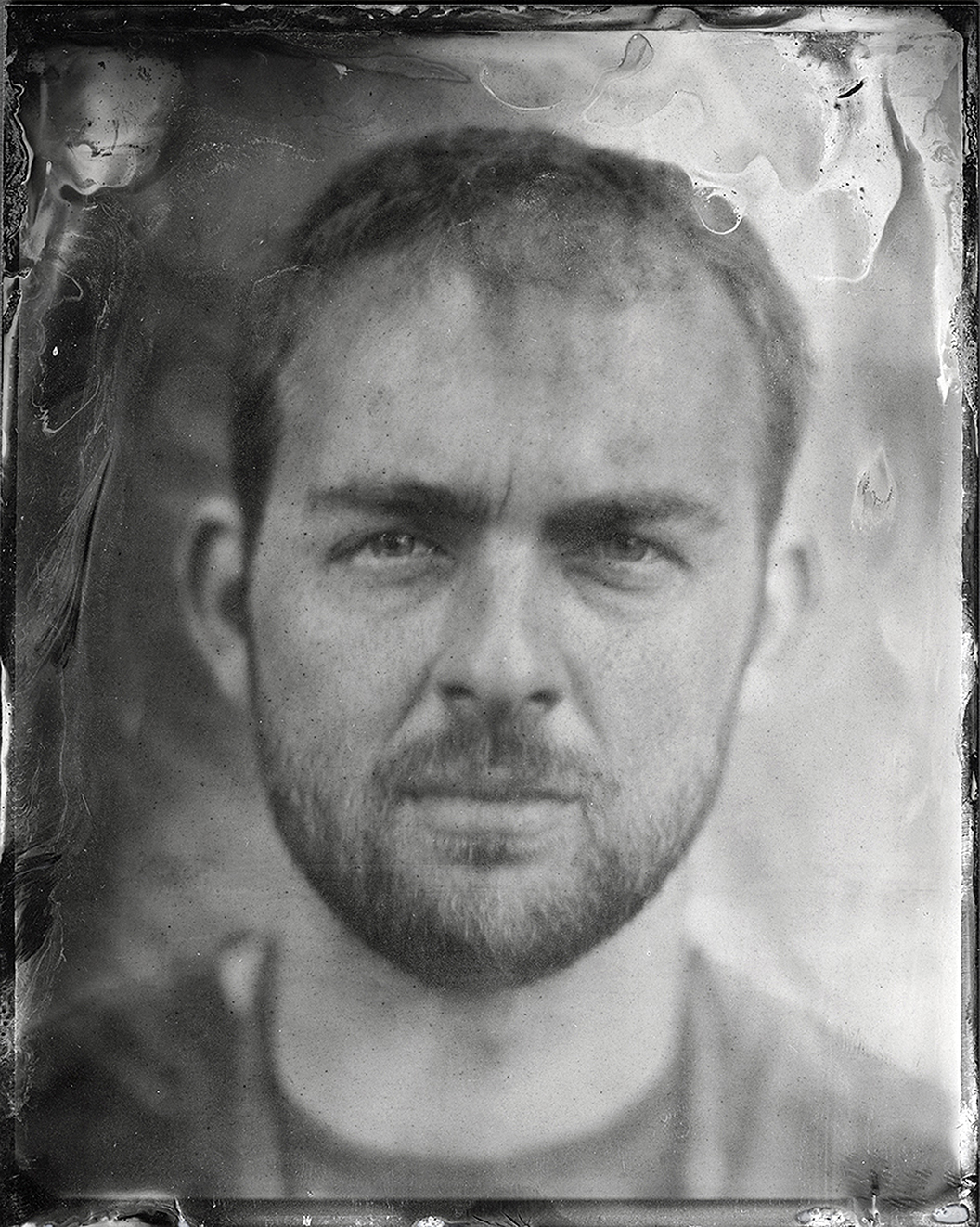 Self Portrait  Tintype