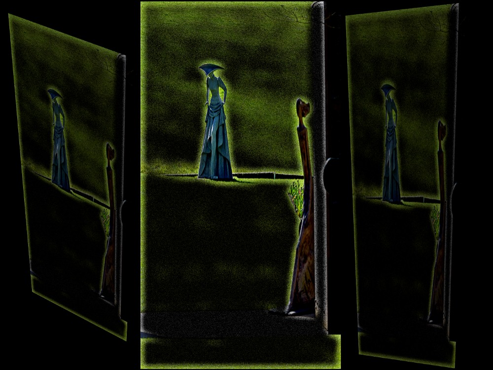 TRYPTIC OF STANDING FIGURES by Bob Elston.jpg