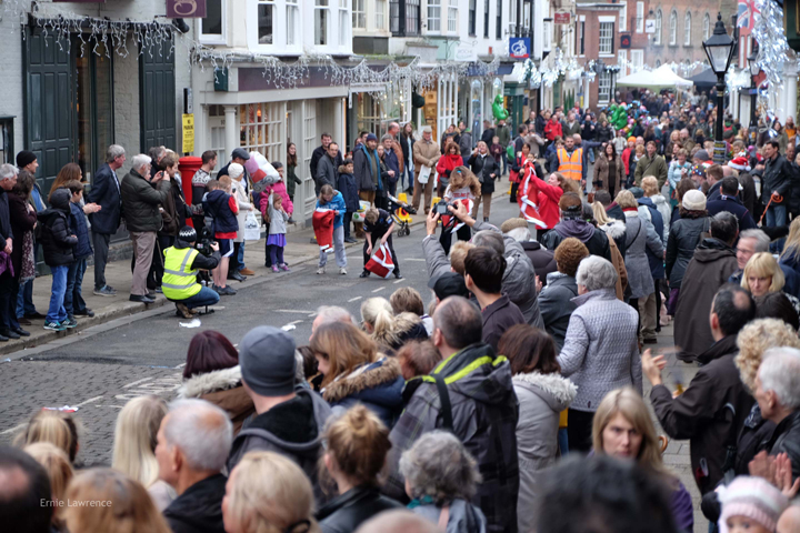 Christmas In Rye 2016 - Image By Ernie Lawrence