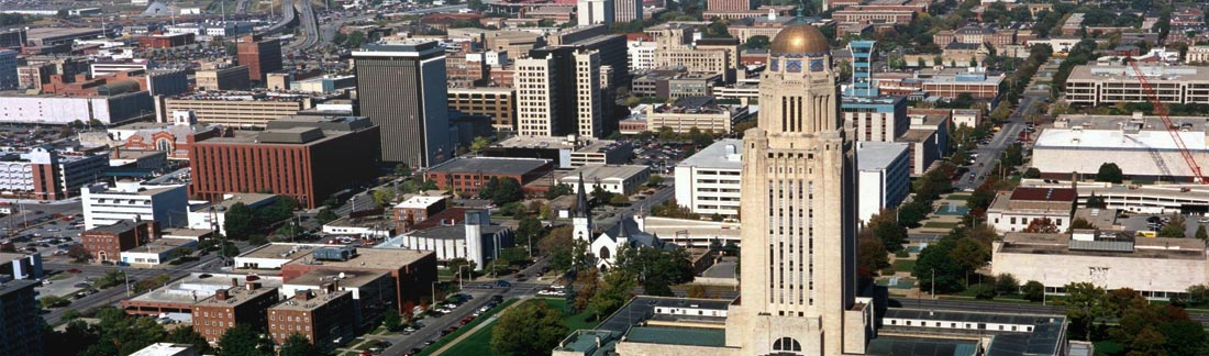 Lincoln, Neb. Image courtesy NebraskaBusinessFirst.com.