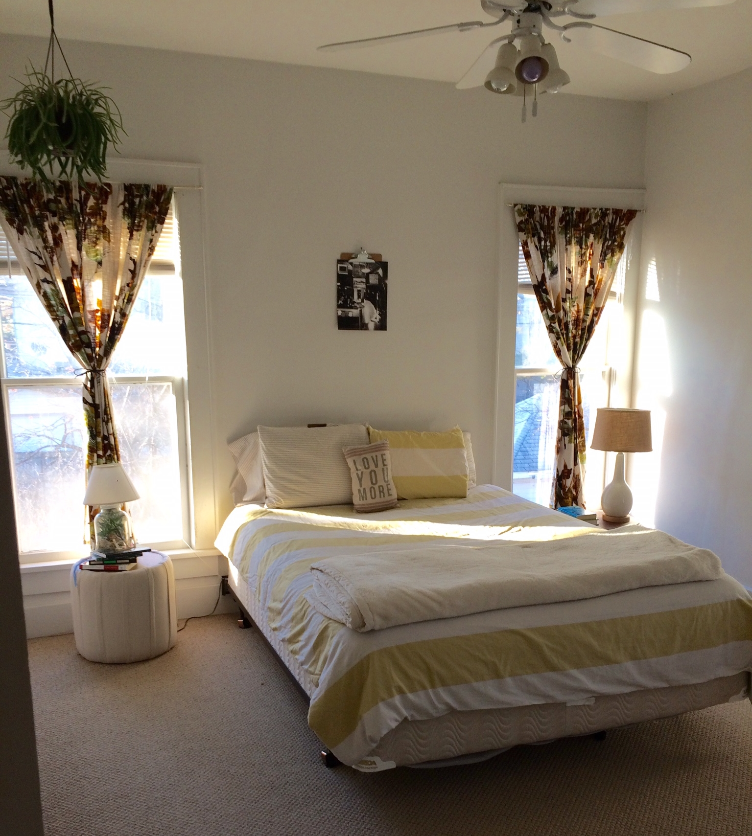 We loved 1919 Prospect Street, especially the light in the bedroom.