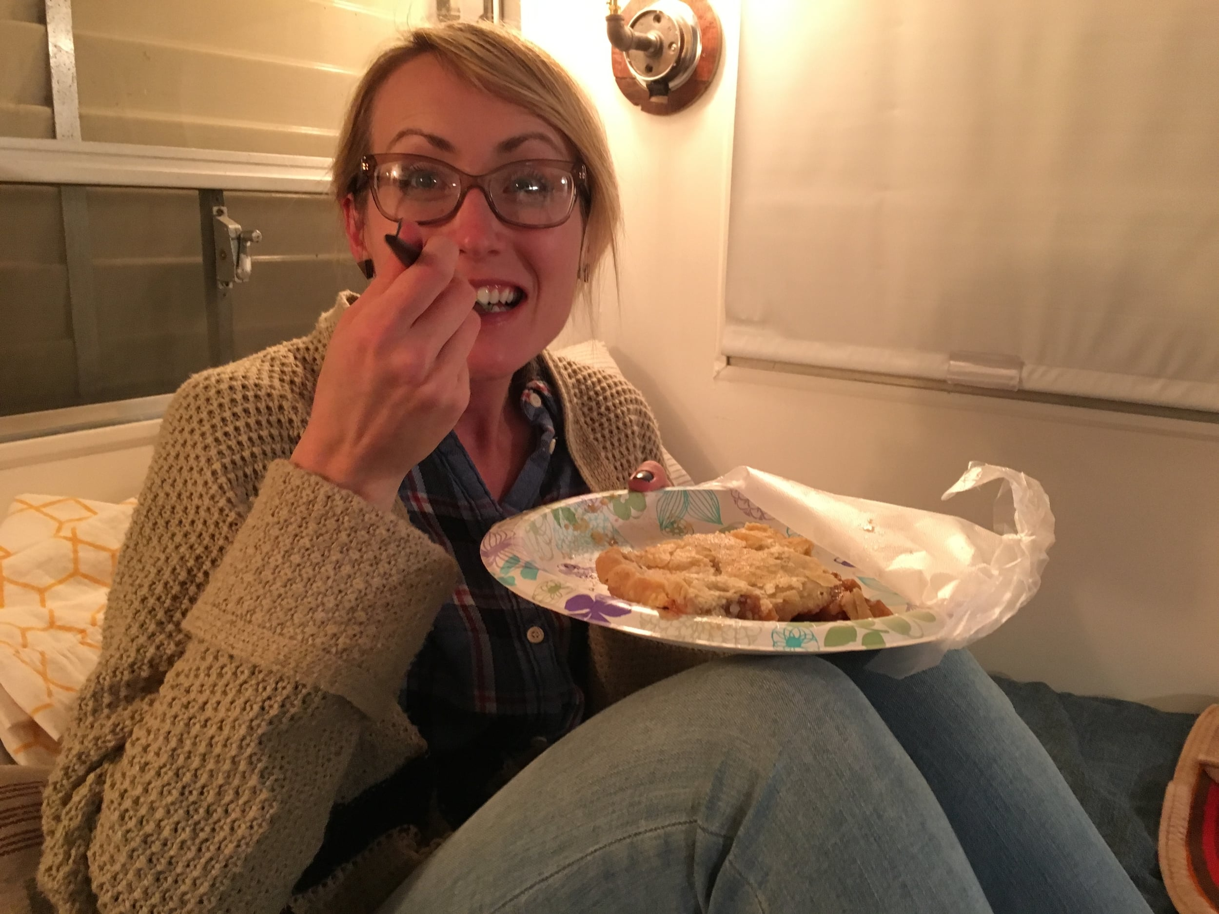 Thanks, Bruce and Connie, for the amazing apple pie!