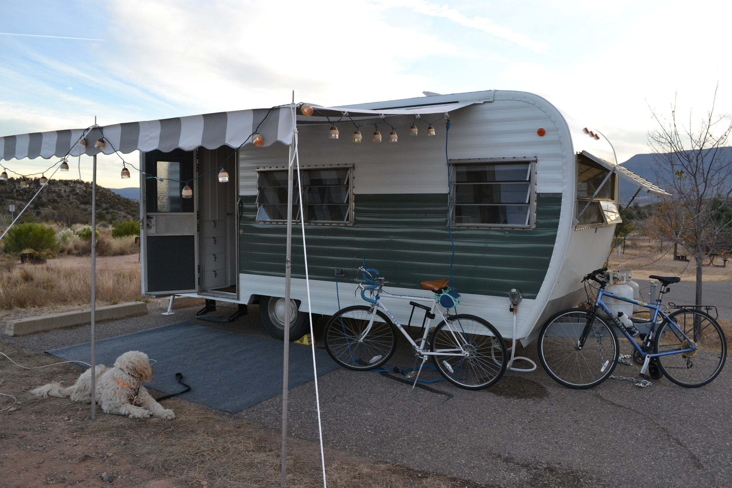 We really like to settle in at our favorite state parks. This one is Dead Horse Ranch SP outside Cottonwood, AZ.