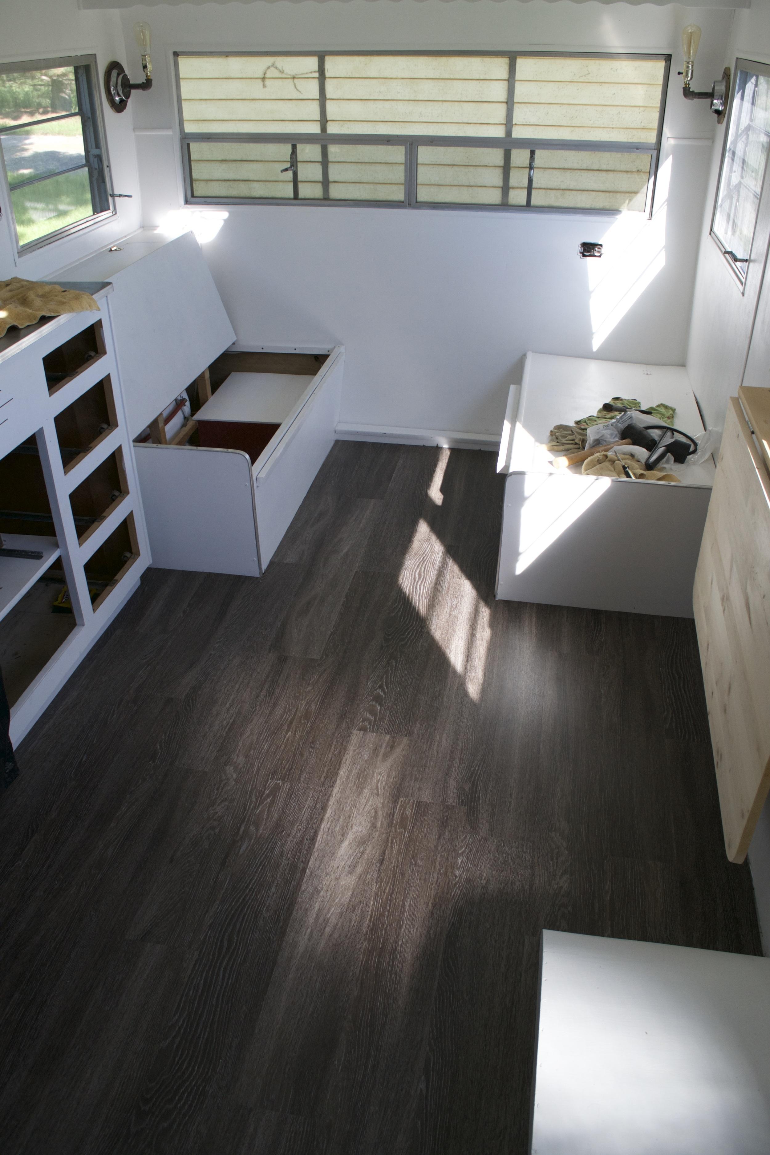 flooring finished