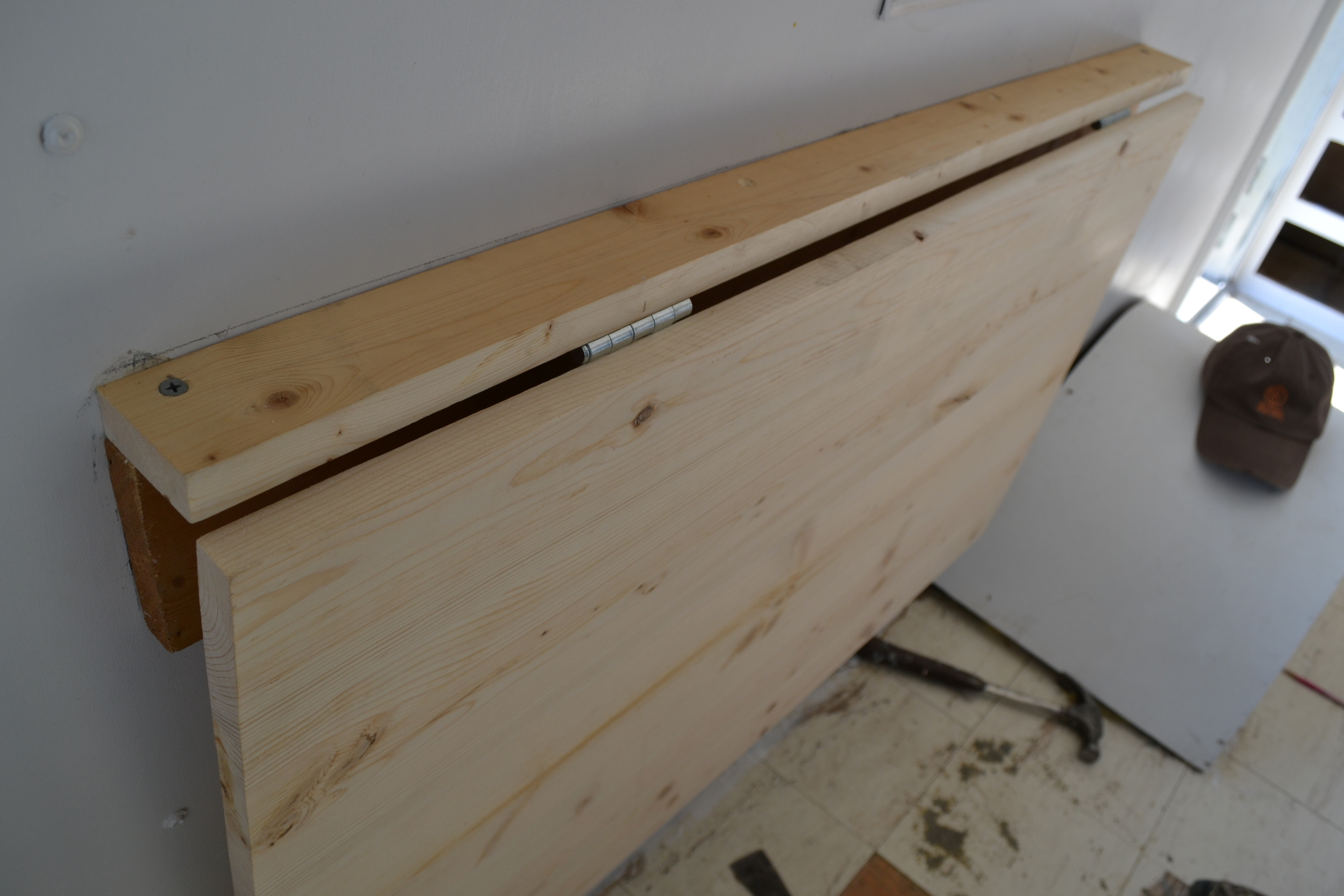 Forget Ikea Build Your Own Folding, How To Build A Wall Mounted Fold Up Desk Ikea